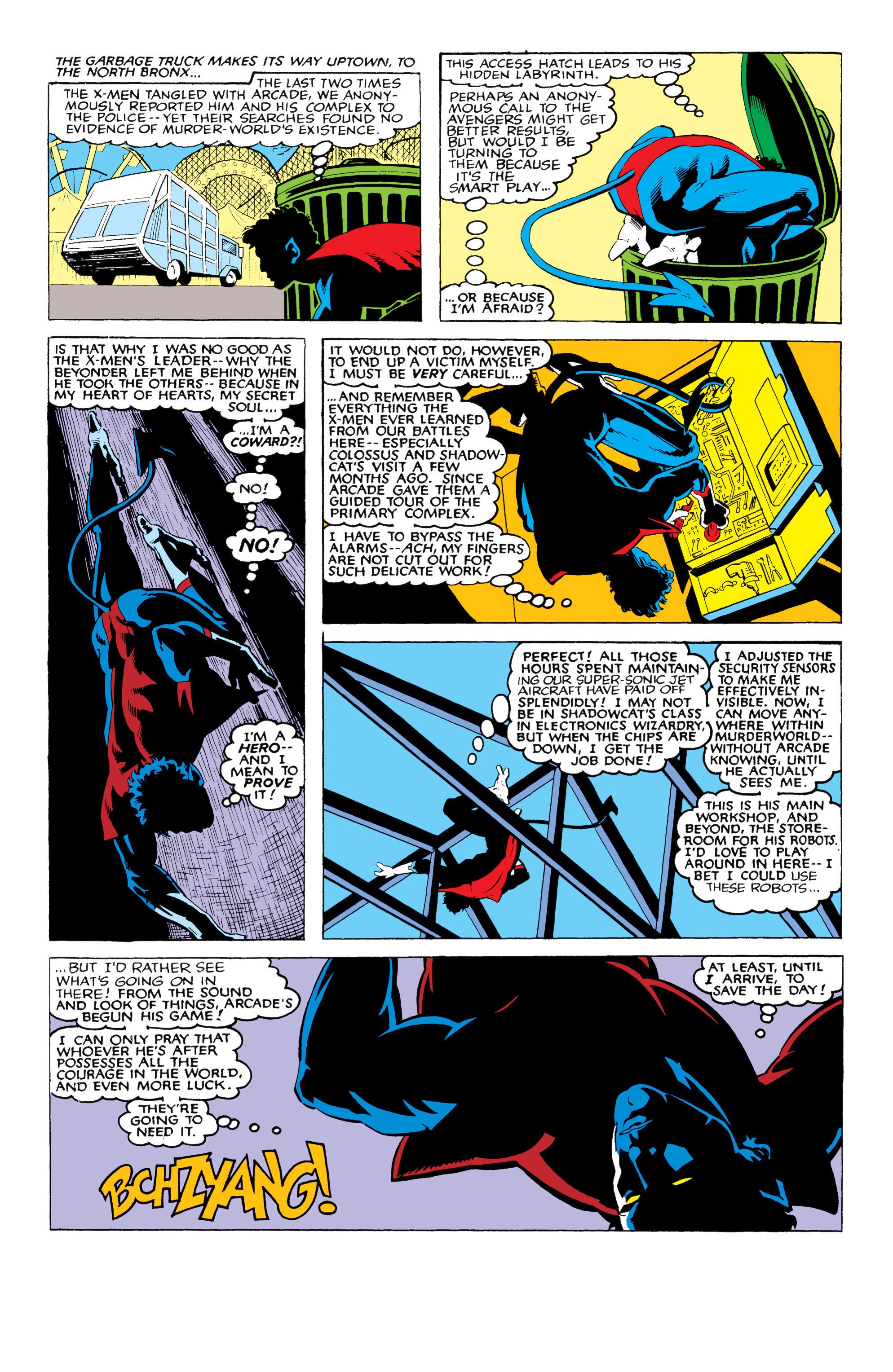 Read online Uncanny X-Men (1963) comic -  Issue #204 - 8