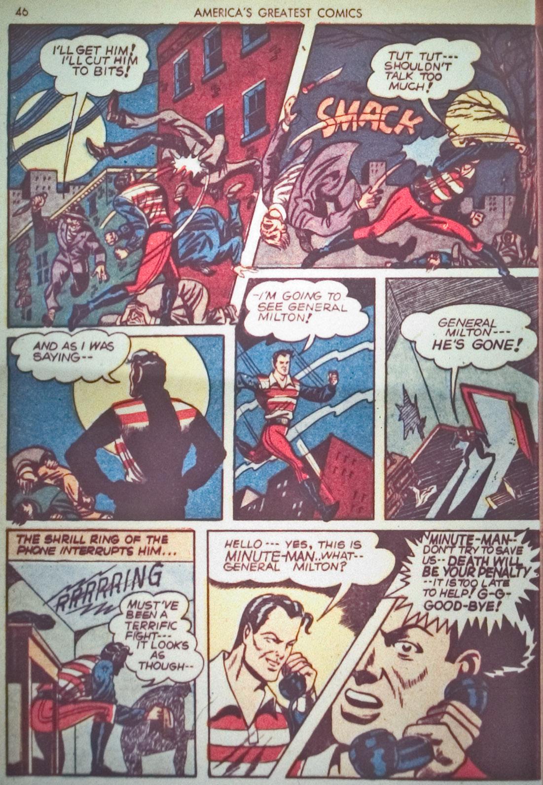 Read online America's Greatest Comics comic -  Issue #1 - 49