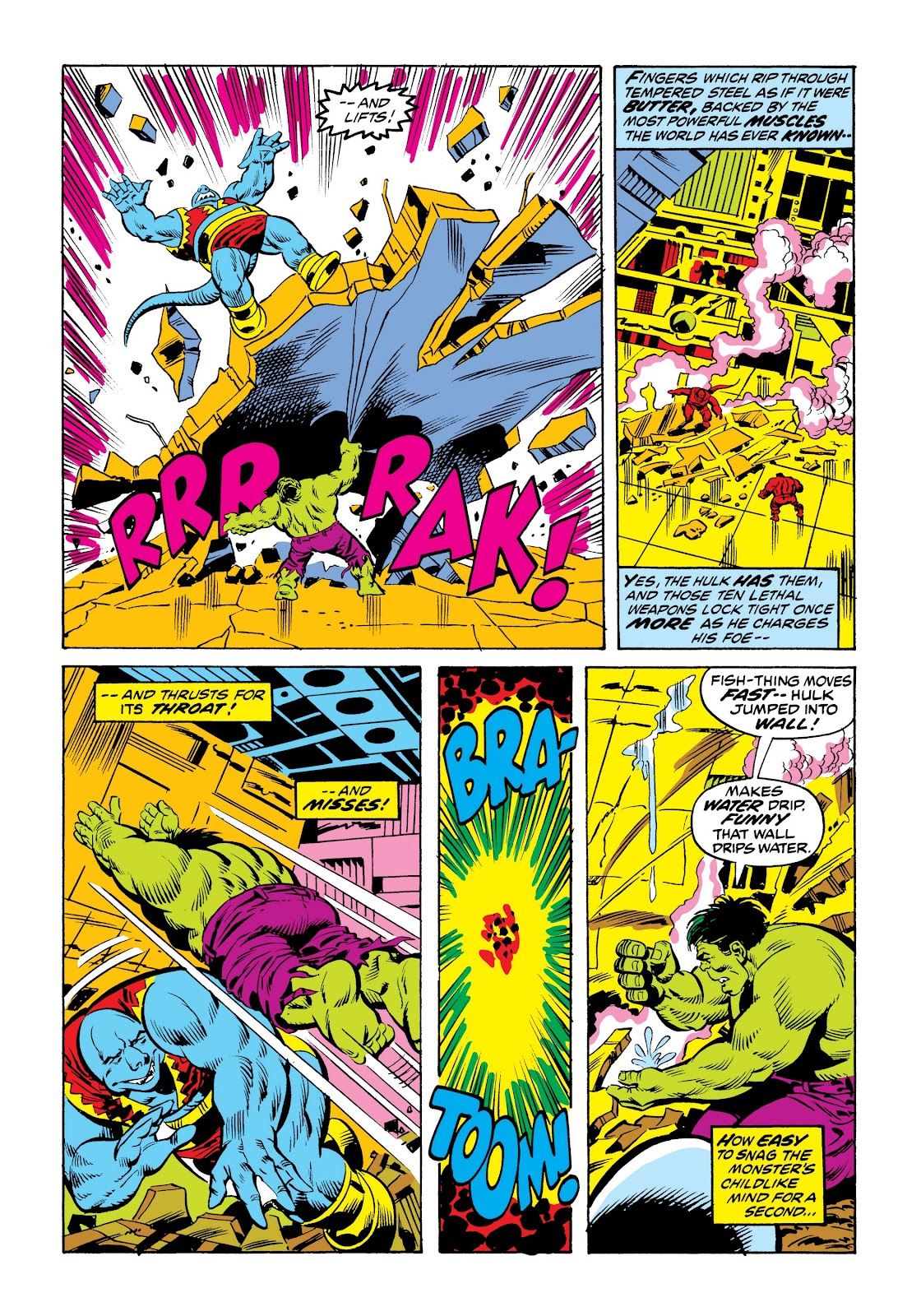 Read online Marvel Masterworks: The Incredible Hulk comic -  Issue # TPB 9 (Part 2) - 90