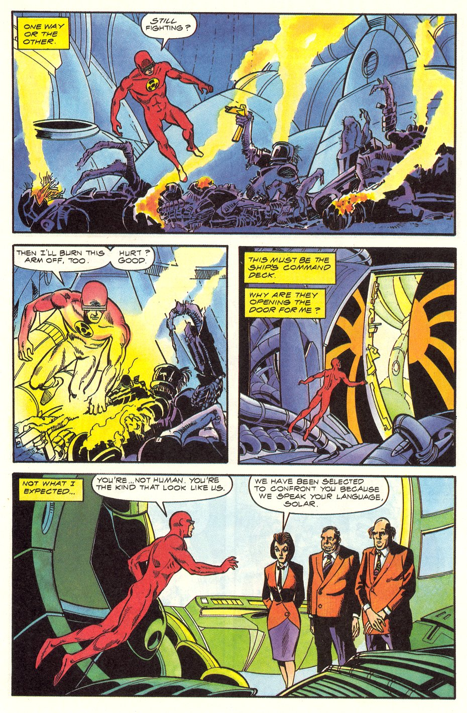 Read online Solar, Man of the Atom comic -  Issue #6 - 30