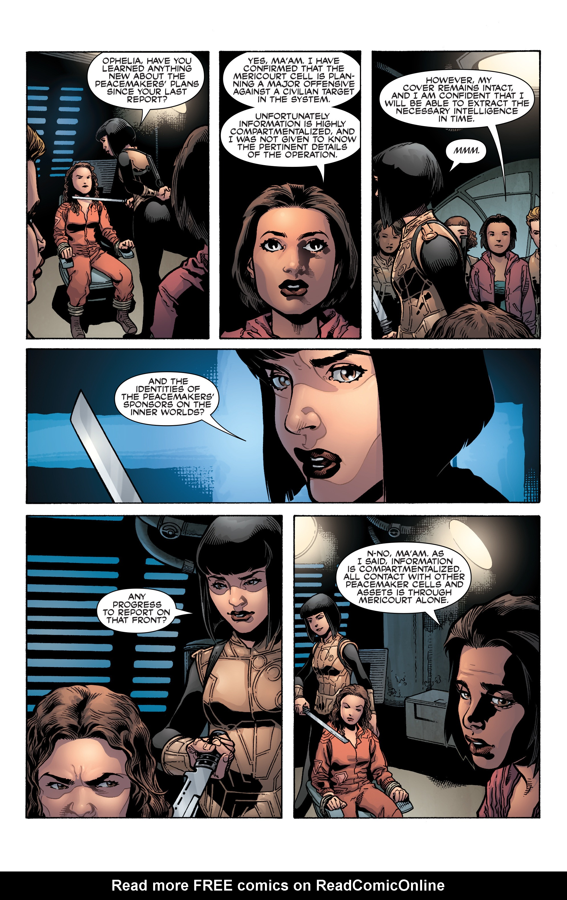 Read online Serenity: Firefly Class 03-K64 – No Power in the 'Verse comic -  Issue #3 - 6