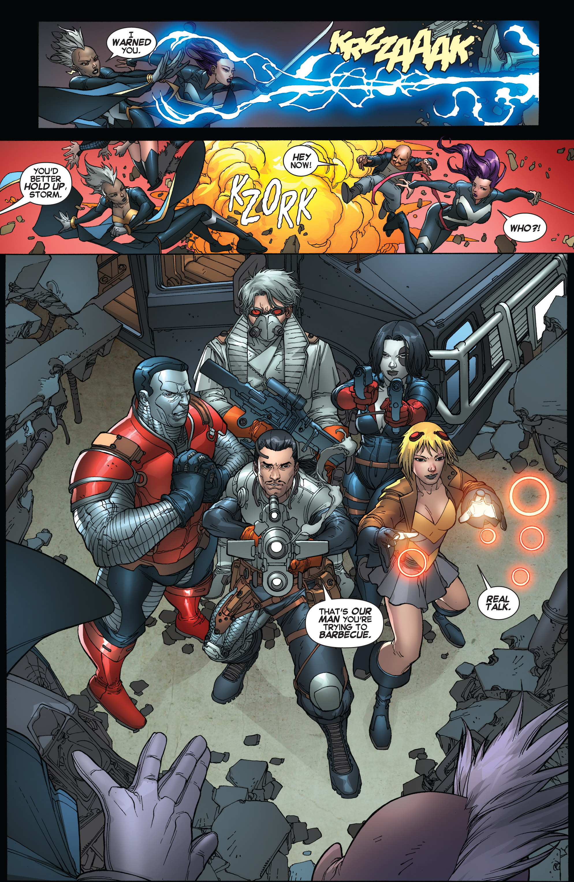 Read online Uncanny X-Force (2013) comic -  Issue #16 - 6