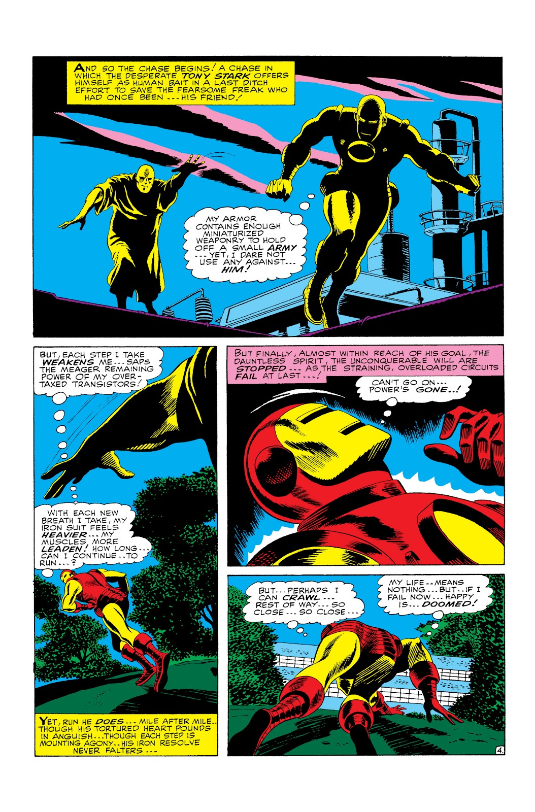 Read online Marvel Masterworks: The Invincible Iron Man comic -  Issue # TPB 3 (Part 3) - 14
