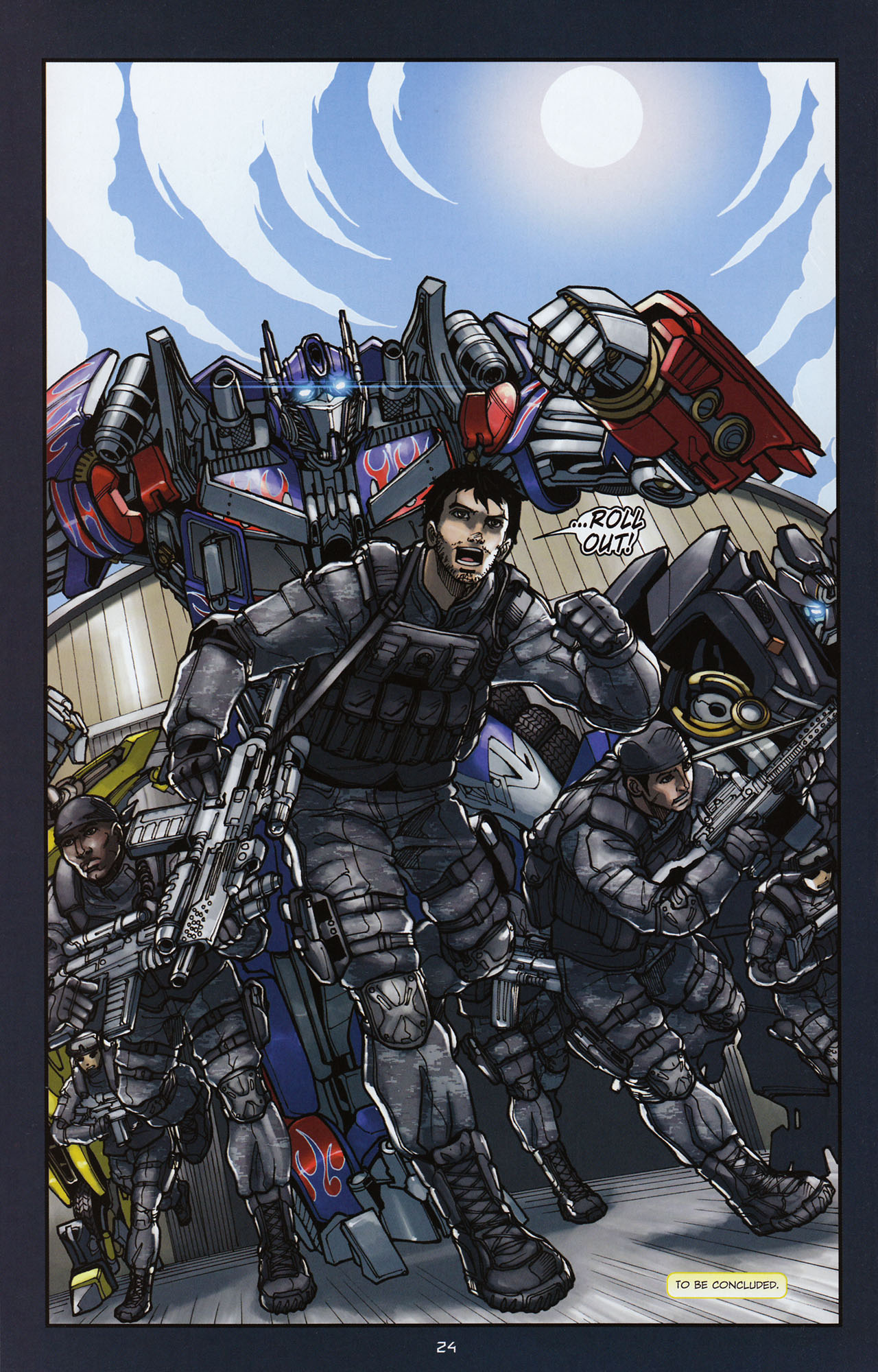 Read online Transformers: Alliance comic -  Issue #3 - 25