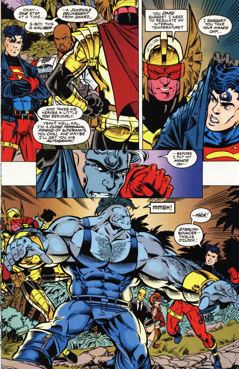 Read online Superboy & The Ravers comic -  Issue #1 - 18