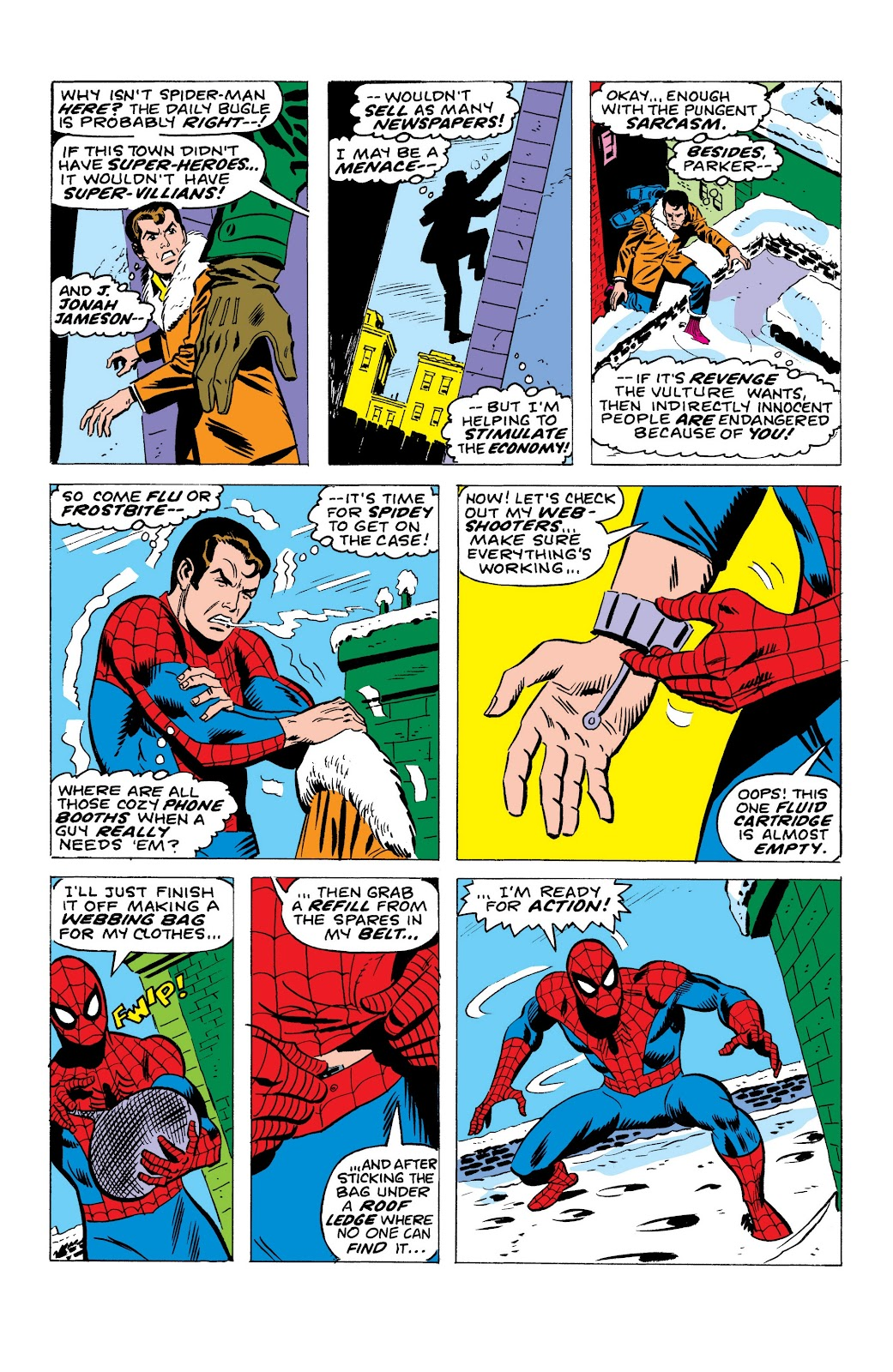 Read online Marvel Masterworks: The Spectacular Spider-Man comic -  Issue # TPB (Part 1) - 72