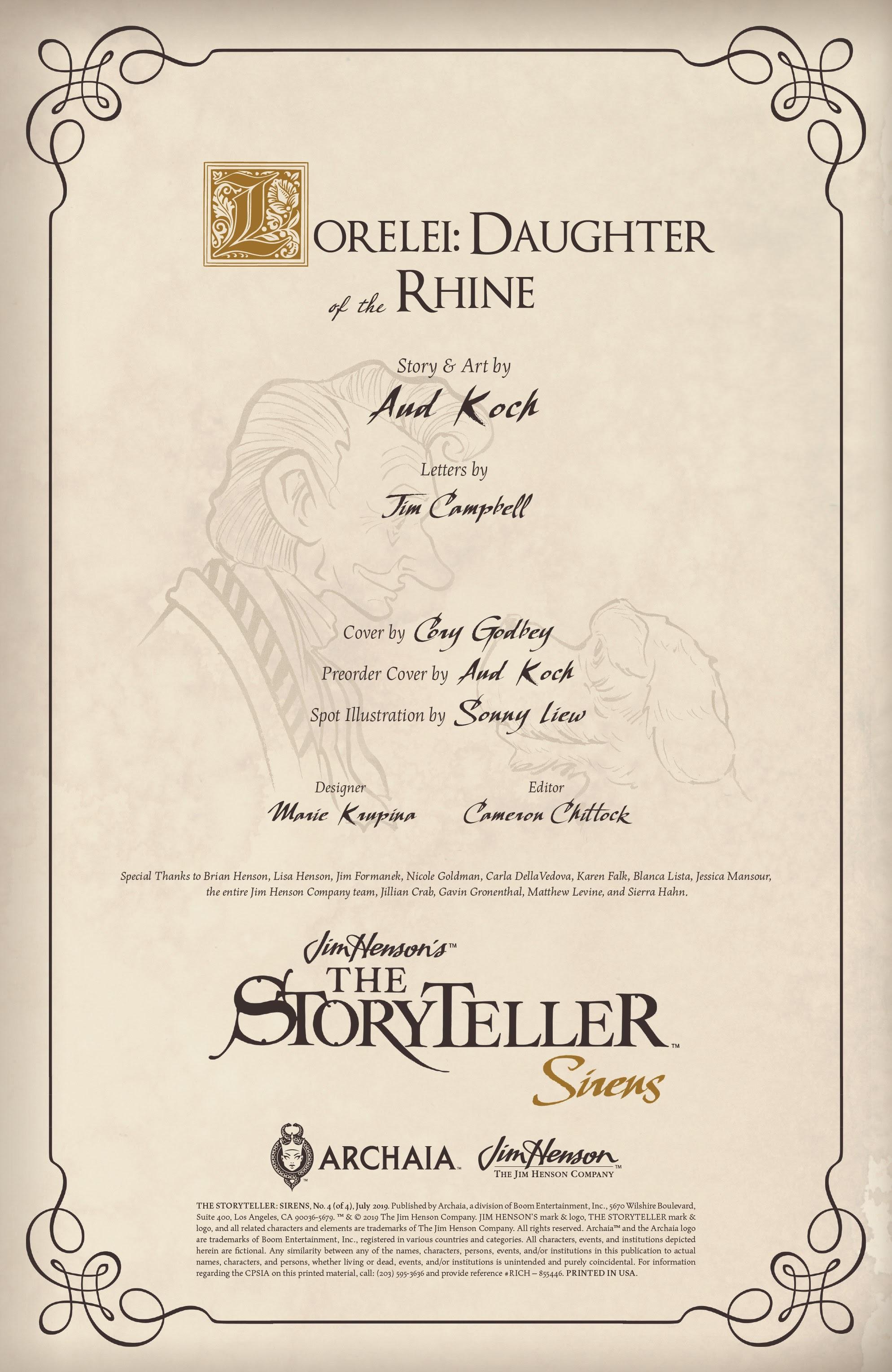 Jim Hensons The Storyteller: Sirens 4 Page 2