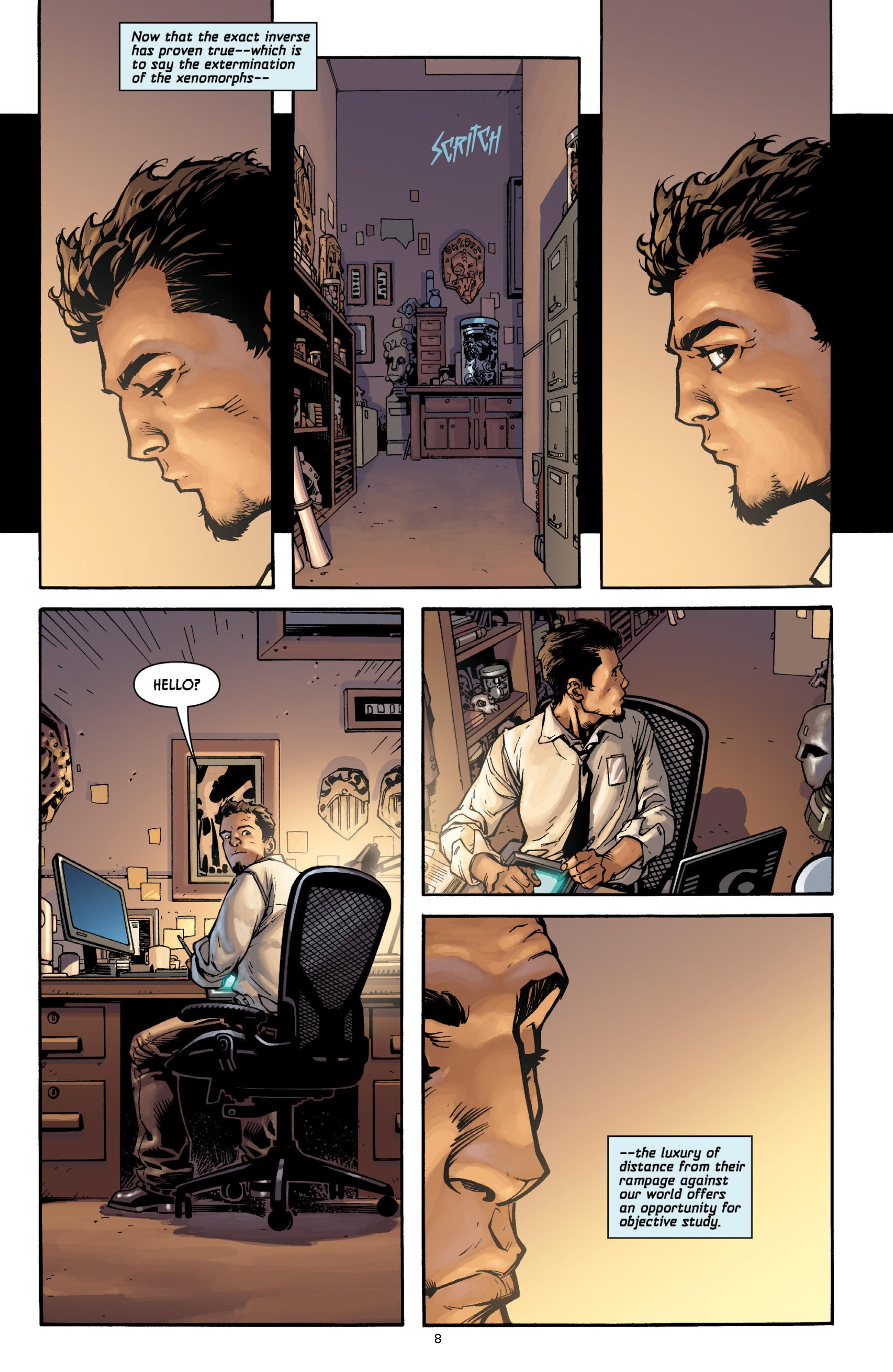 Read online Aliens (2009) comic -  Issue # TPB - 8