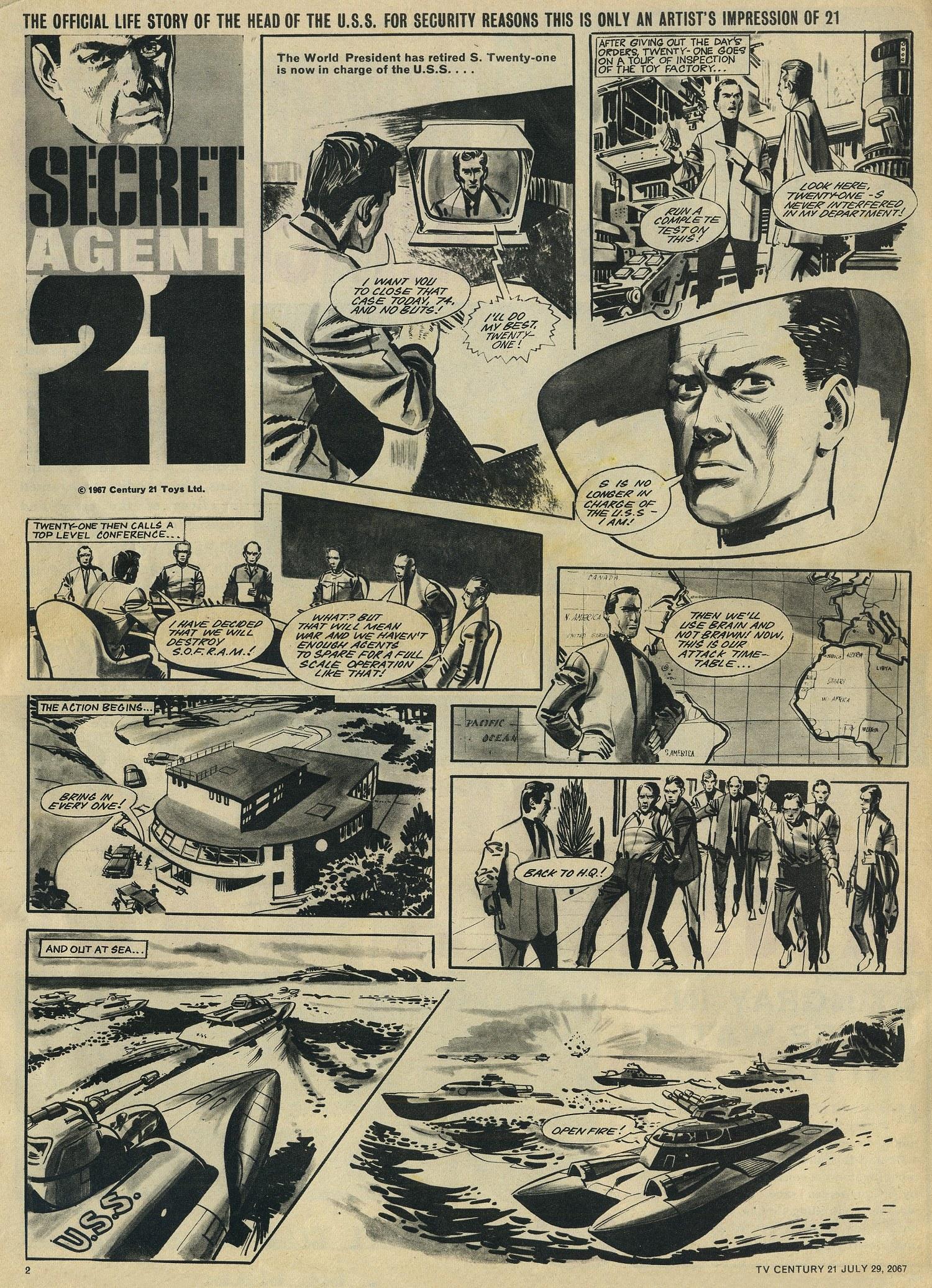 Read online TV Century 21 (TV 21) comic -  Issue #132 - 2