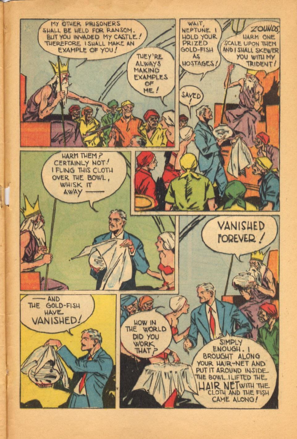 Read online Super-Magician Comics comic -  Issue #38 - 47