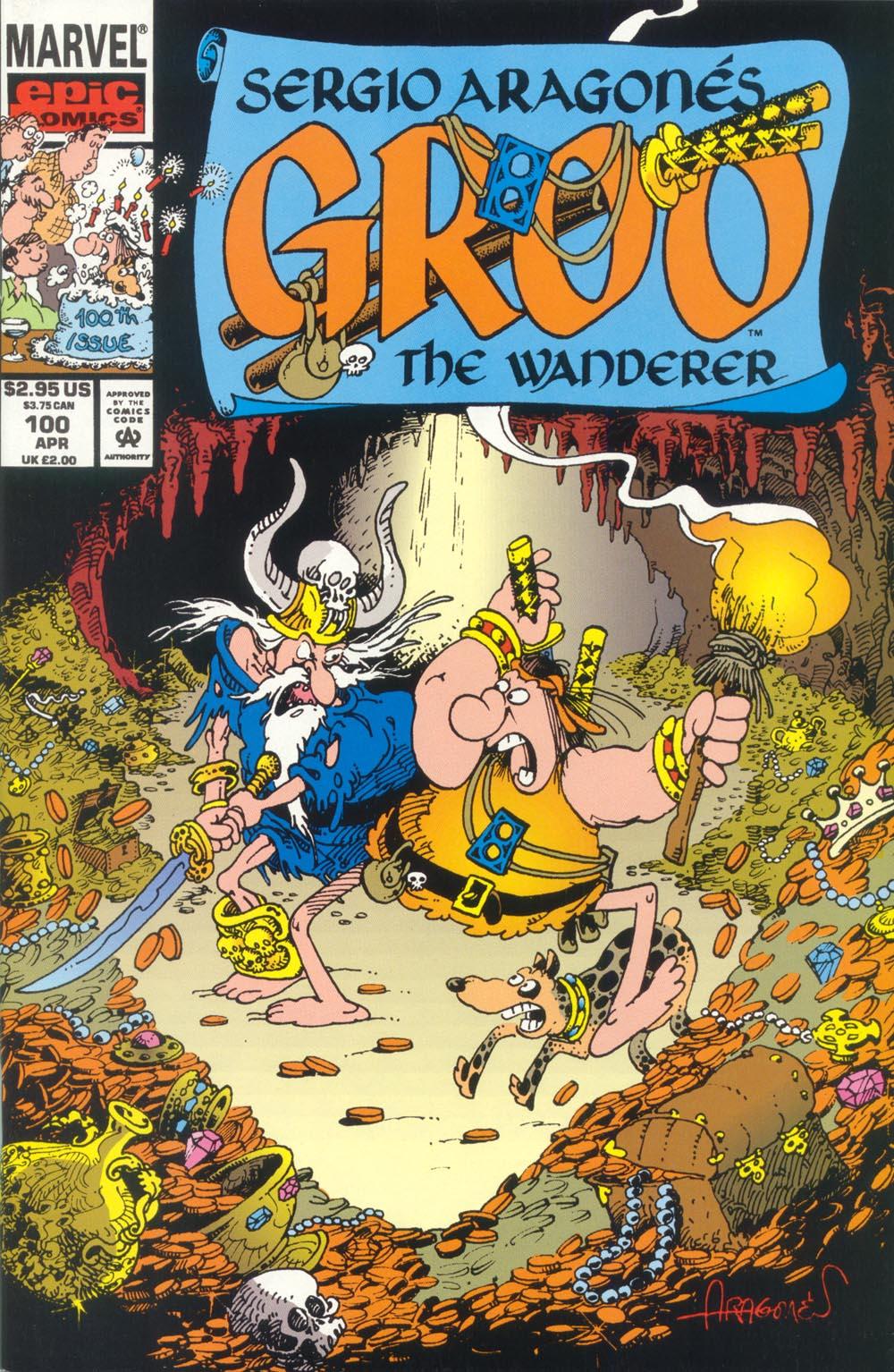 Read online Sergio Aragonés Groo the Wanderer comic -  Issue #100 - 1