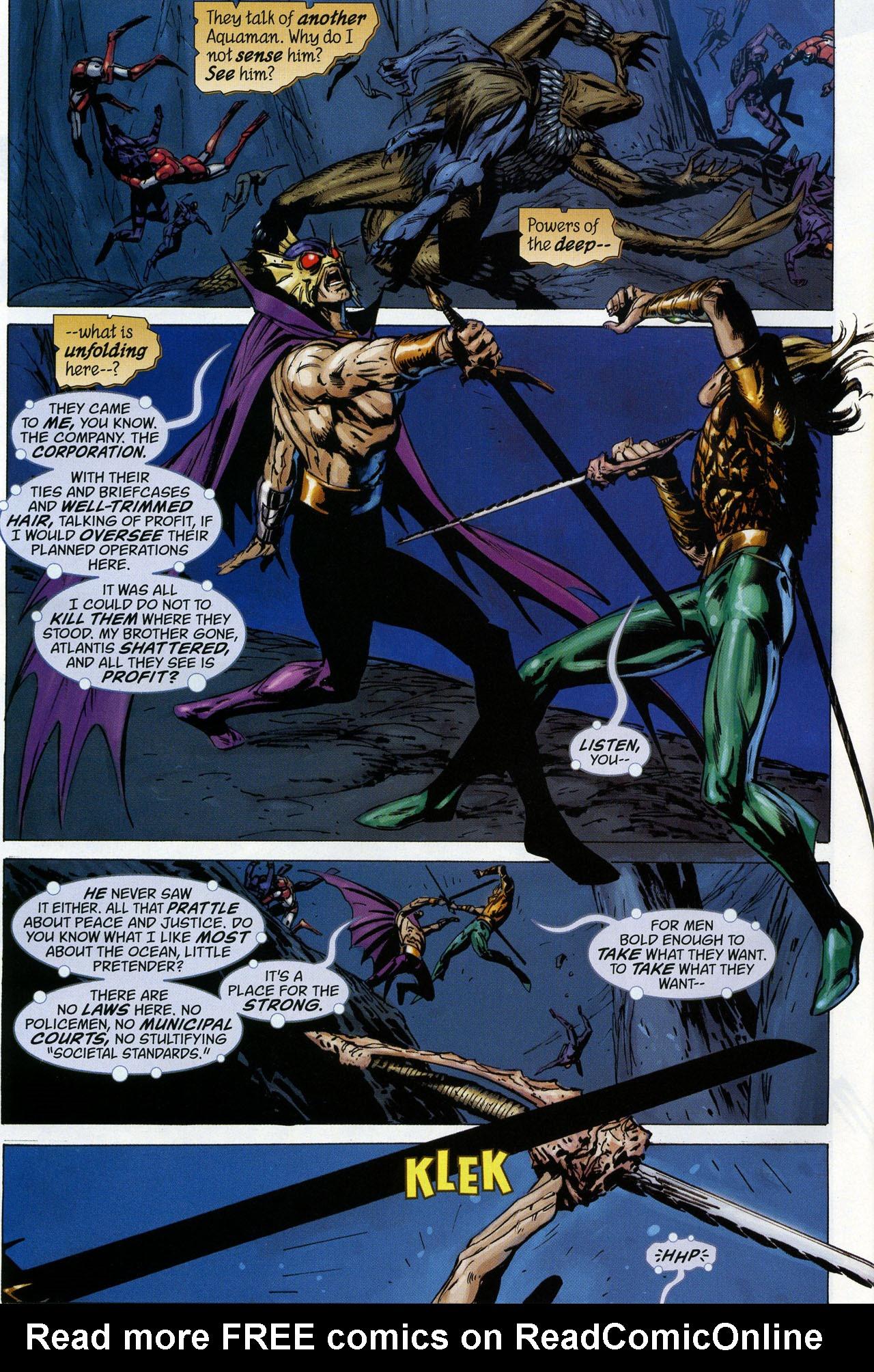 Read online Aquaman: Sword of Atlantis comic -  Issue #44 - 21