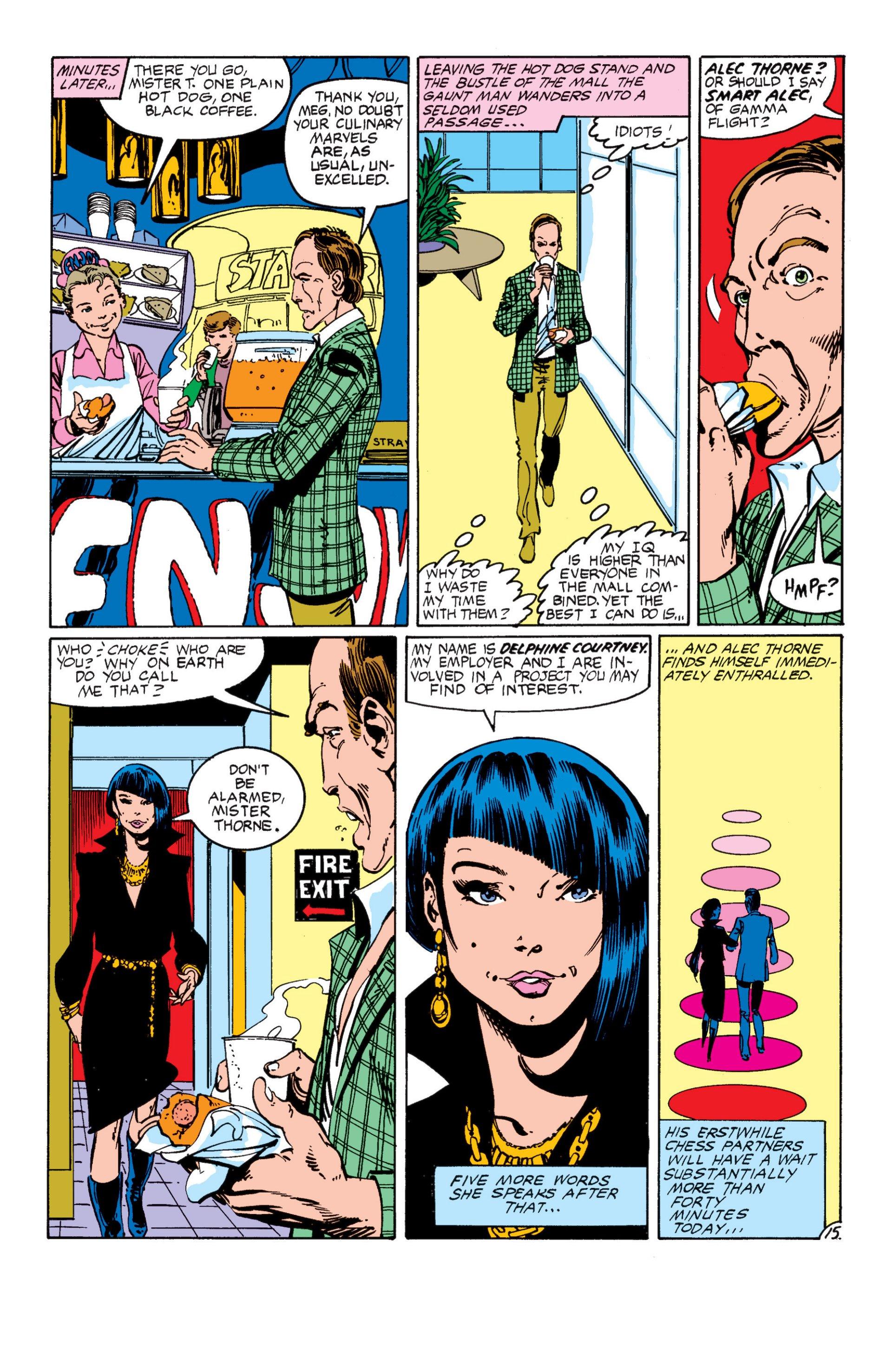 Read online Alpha Flight (1983) comic -  Issue #7 - 16