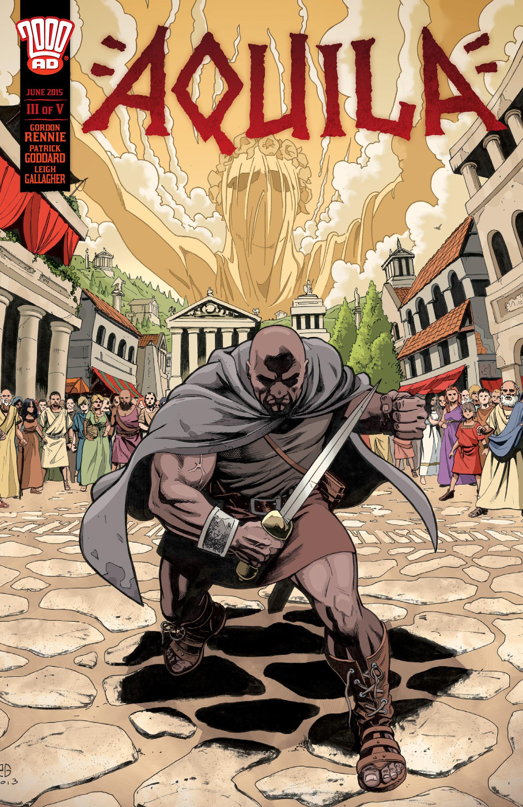 Read online Aquila comic -  Issue #3 - 1