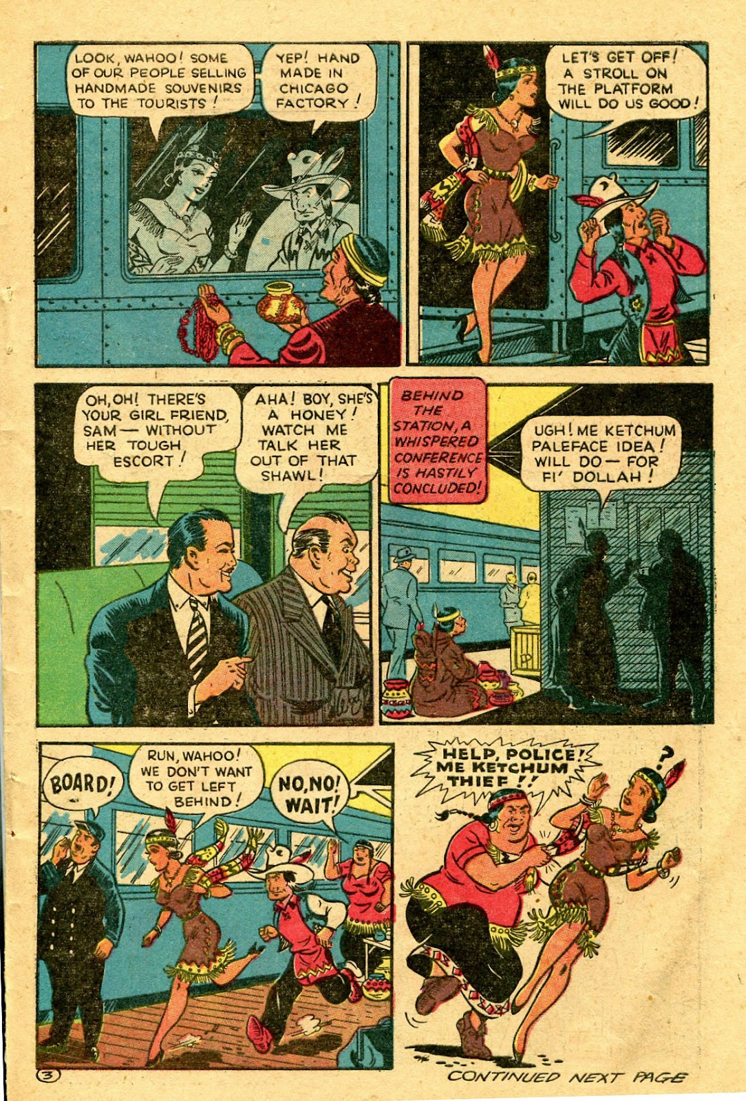 Read online Famous Funnies comic -  Issue #130 - 43