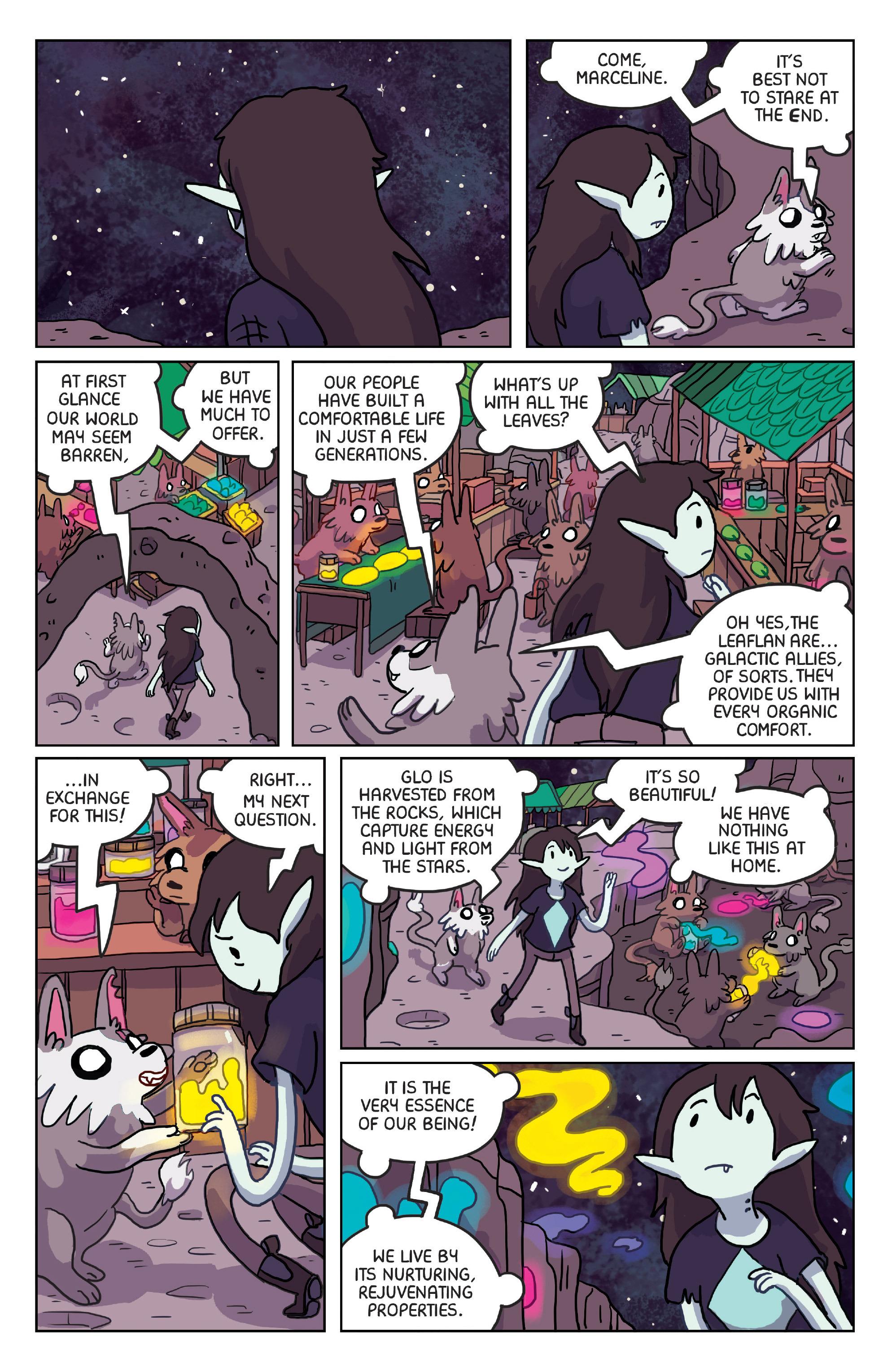 Read online Adventure Time: Marceline Gone Adrift comic -  Issue #4 - 9