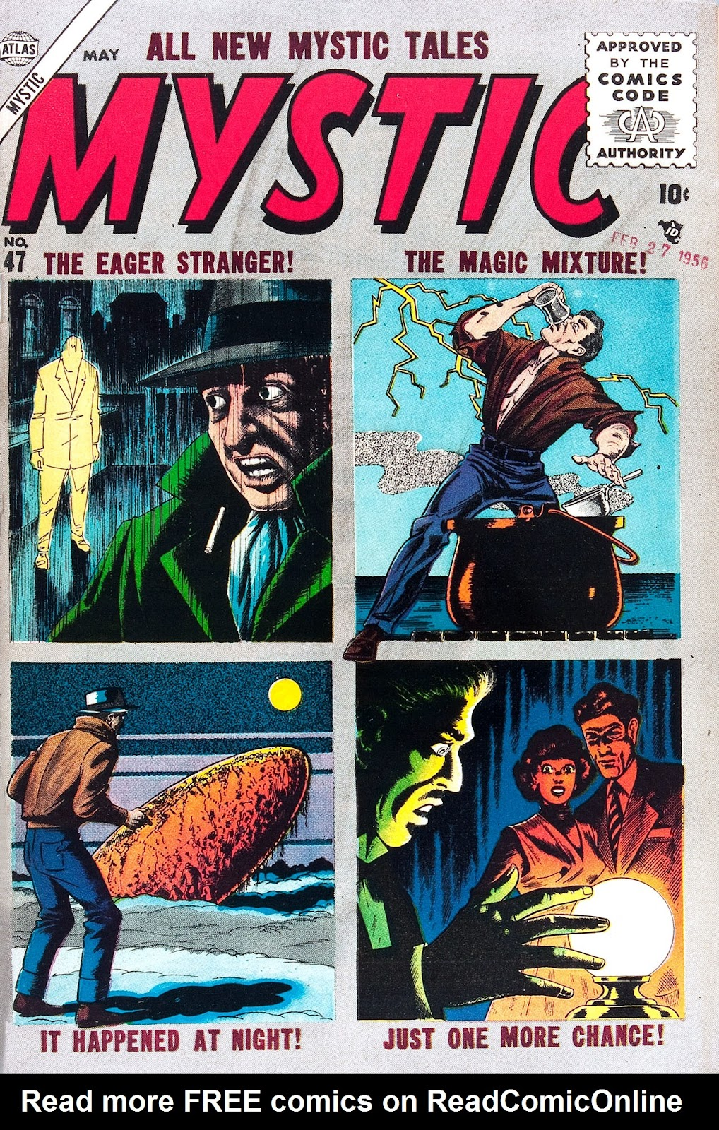 Mystic (1951) issue 47 - Page 1
