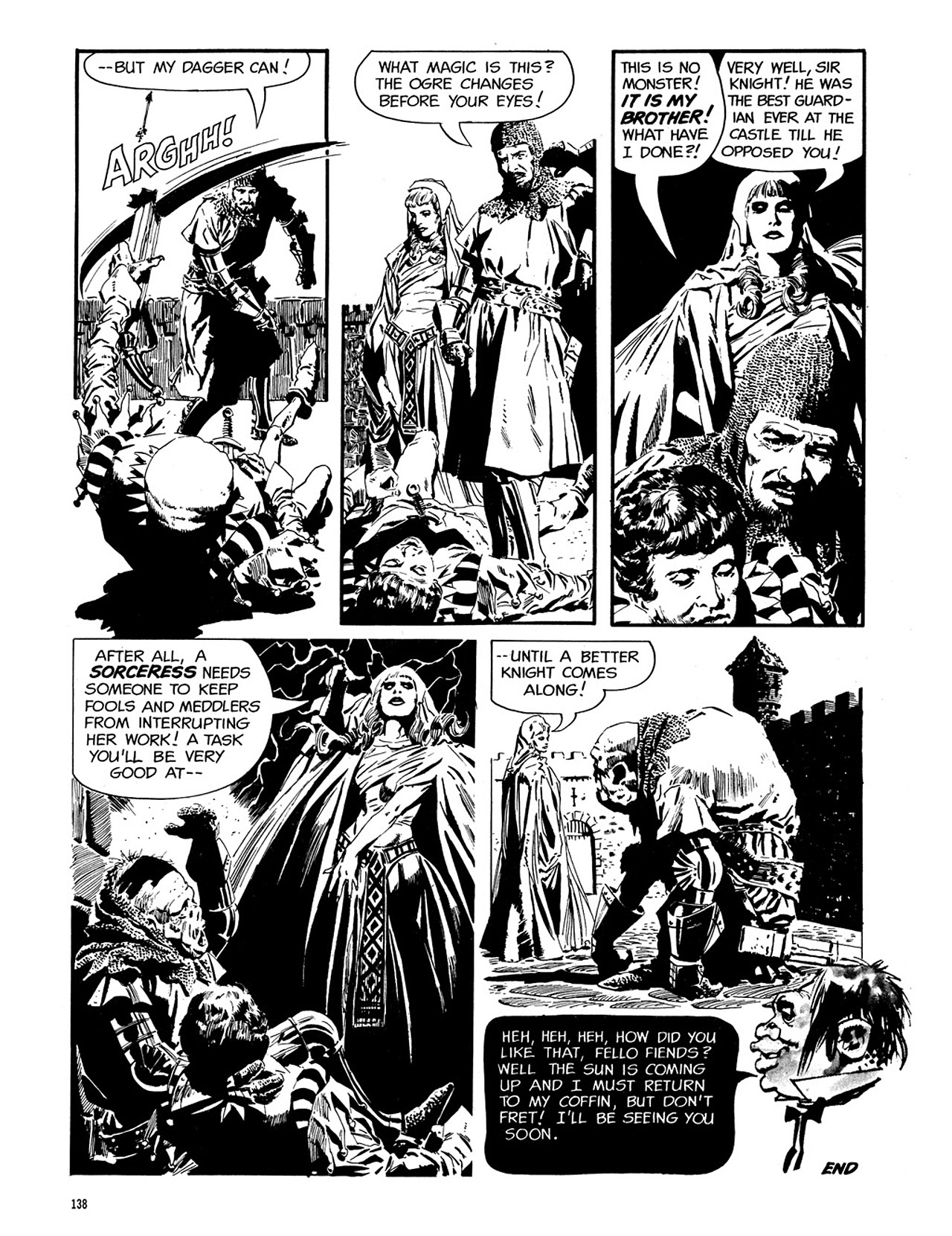 Read online Eerie Archives comic -  Issue # TPB 3 - 139