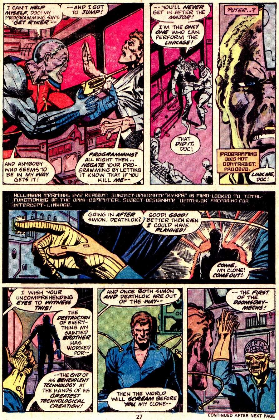 Read online Astonishing Tales (1970) comic -  Issue #34 - 16