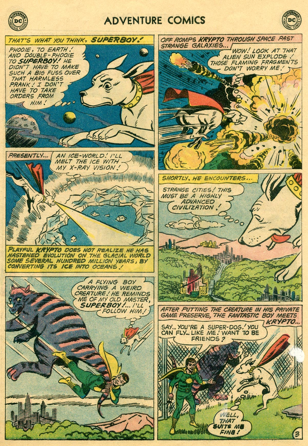 Read online Adventure Comics (1938) comic -  Issue #269 - 5