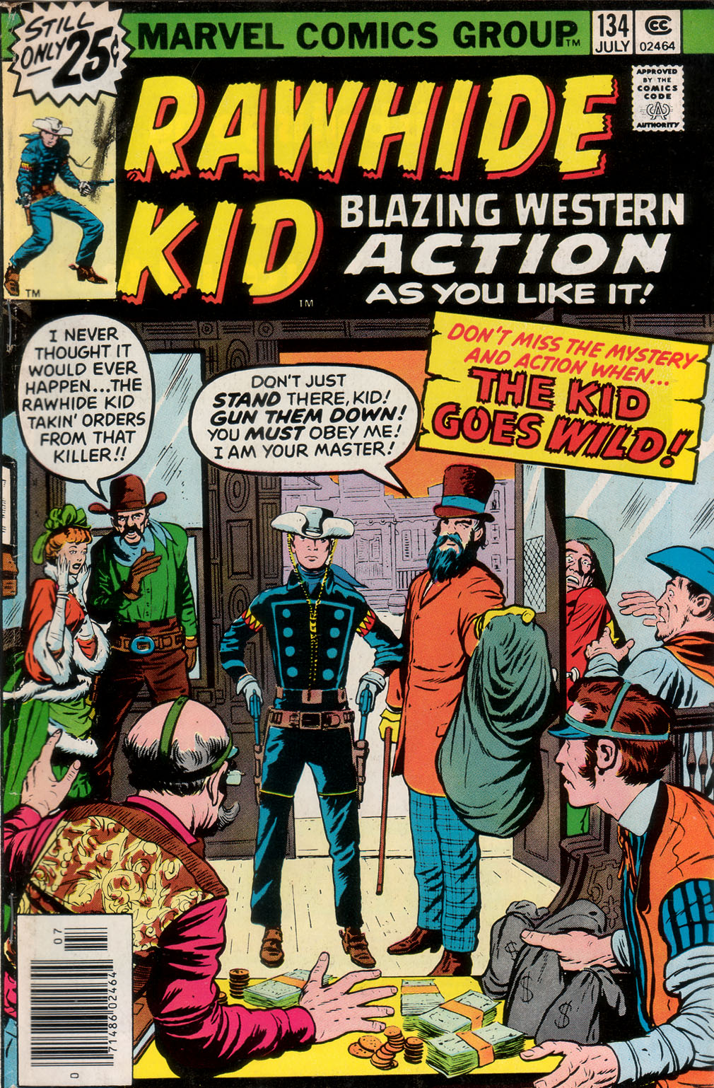 The Rawhide Kid (1955) issue 134 - Page 1