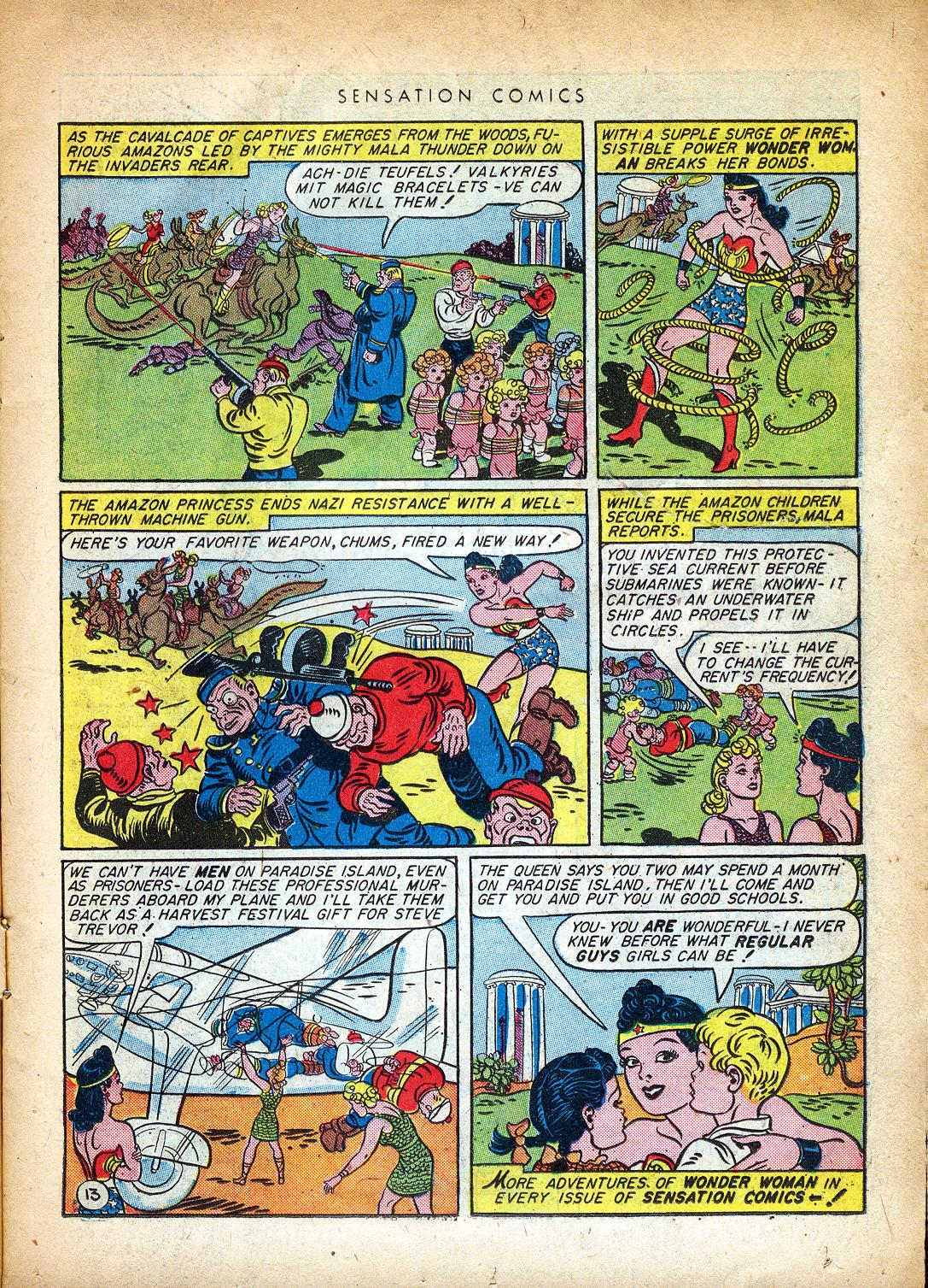 Read online Sensation (Mystery) Comics comic -  Issue #37 - 15