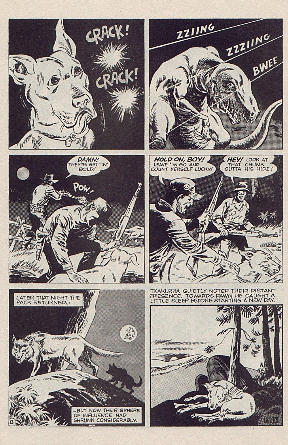 Read online Xenozoic Tales comic -  Issue #5 - 31