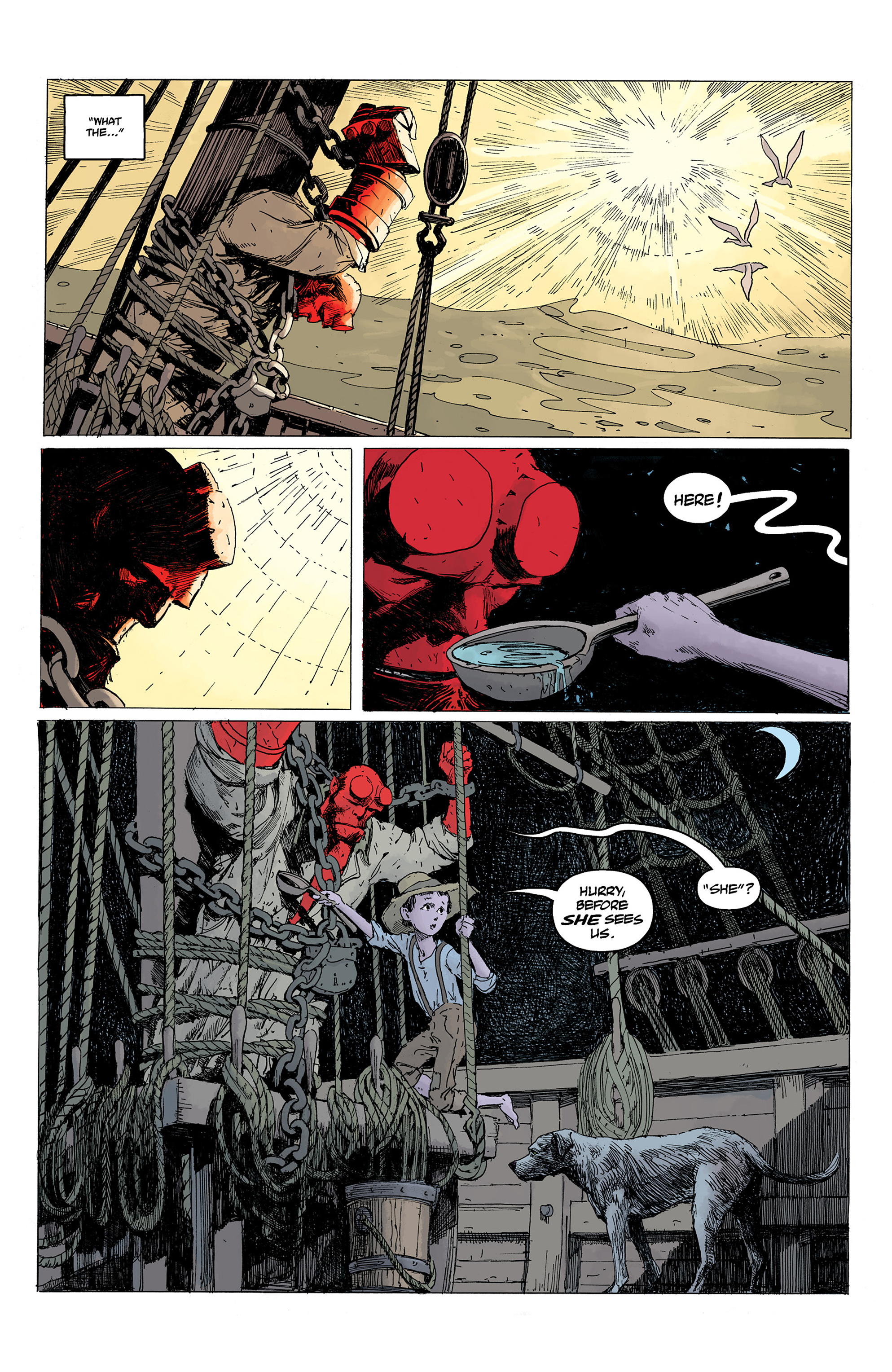 Read online Hellboy: Into the Silent Sea comic -  Issue # Full - 21