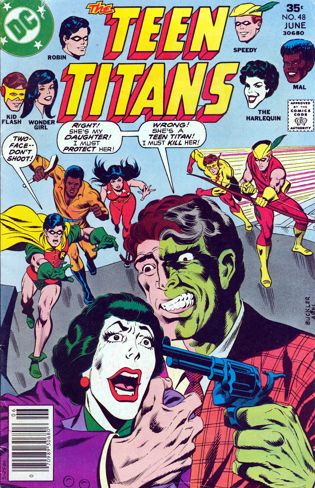 Teen Titans (1966) issue 48 - Page 1