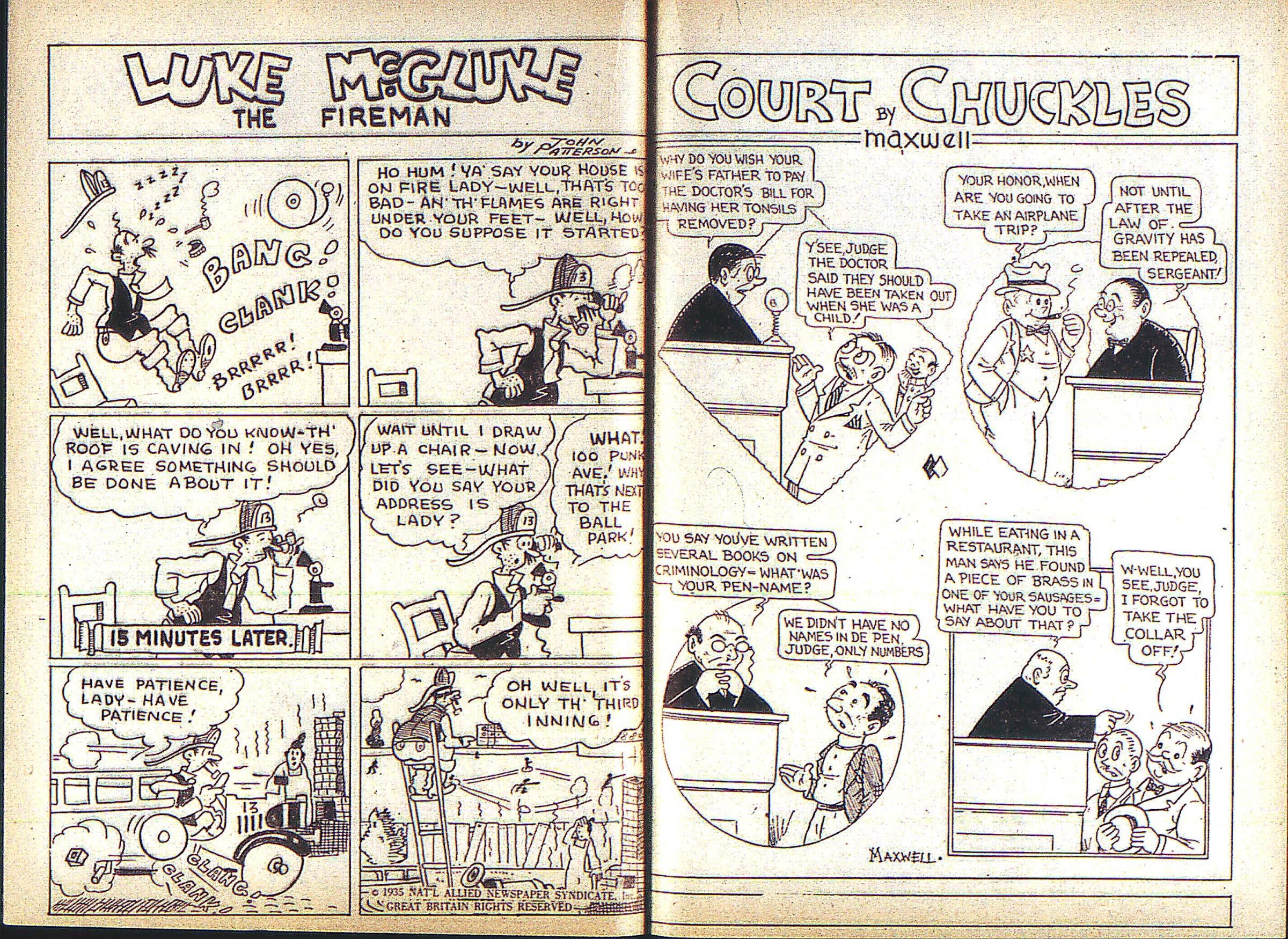 Read online Adventure Comics (1938) comic -  Issue #3 - 23