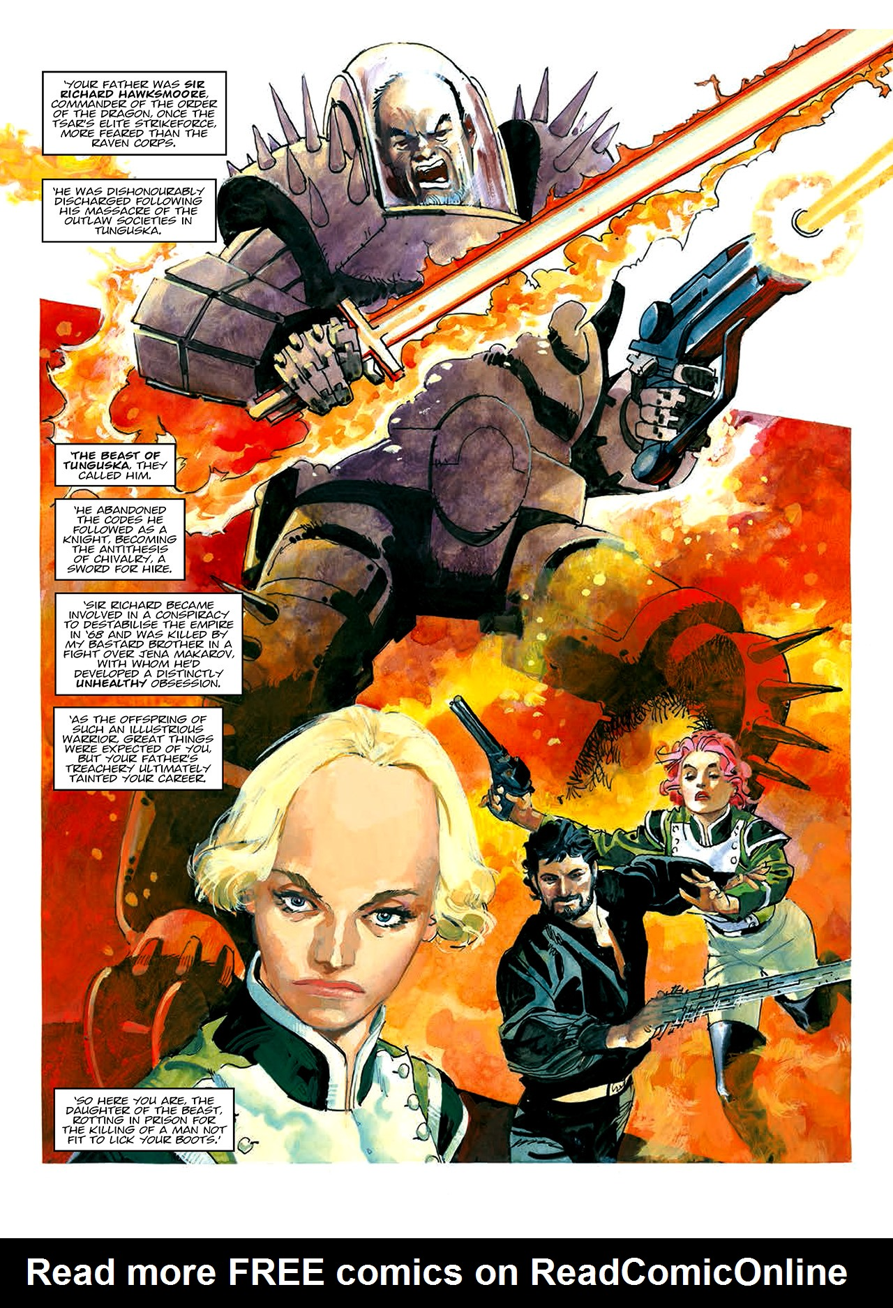 Read online Nikolai Dante comic -  Issue # TPB 10 - 10