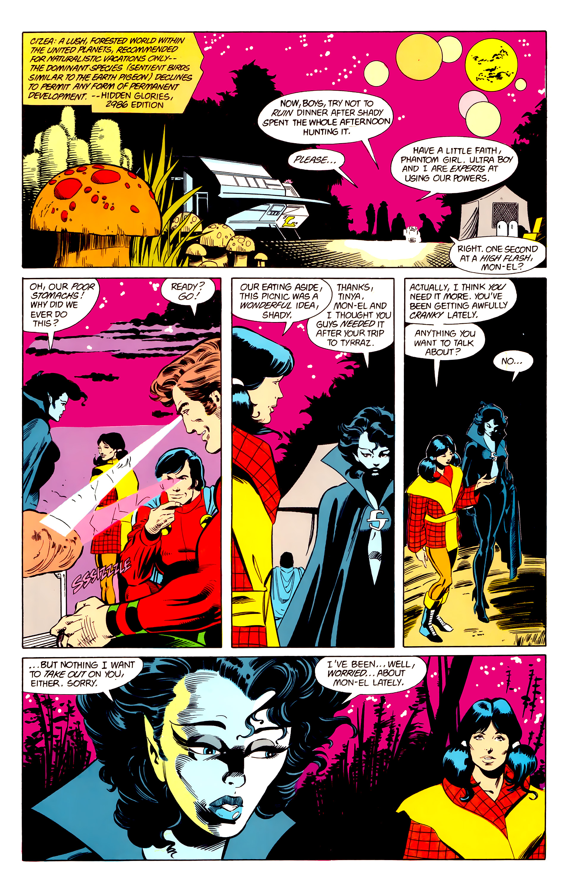 Legion of Super-Heroes (1984) 21 Page 10