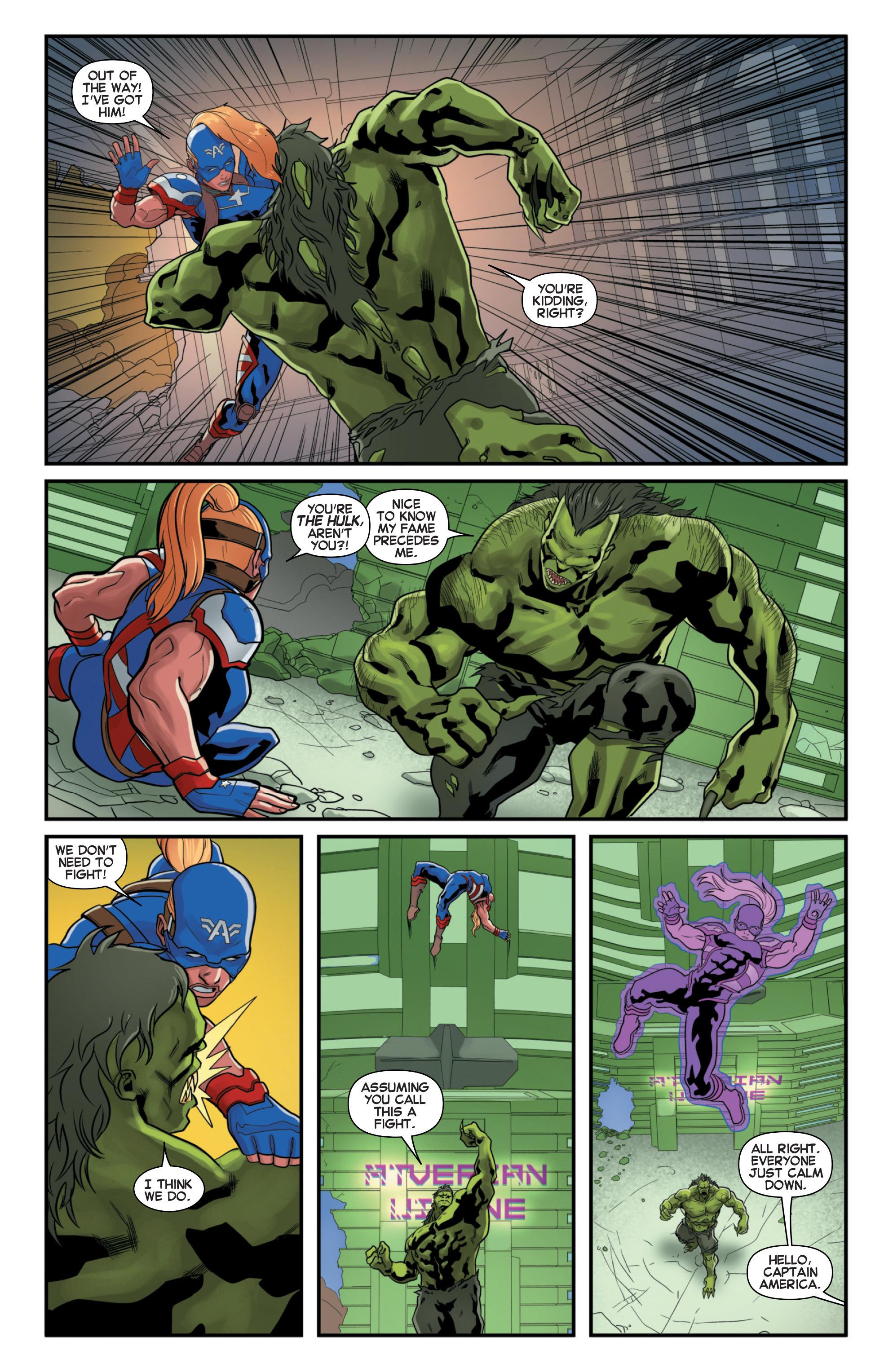 Read online Secret Wars 2099 comic -  Issue #2 - 21
