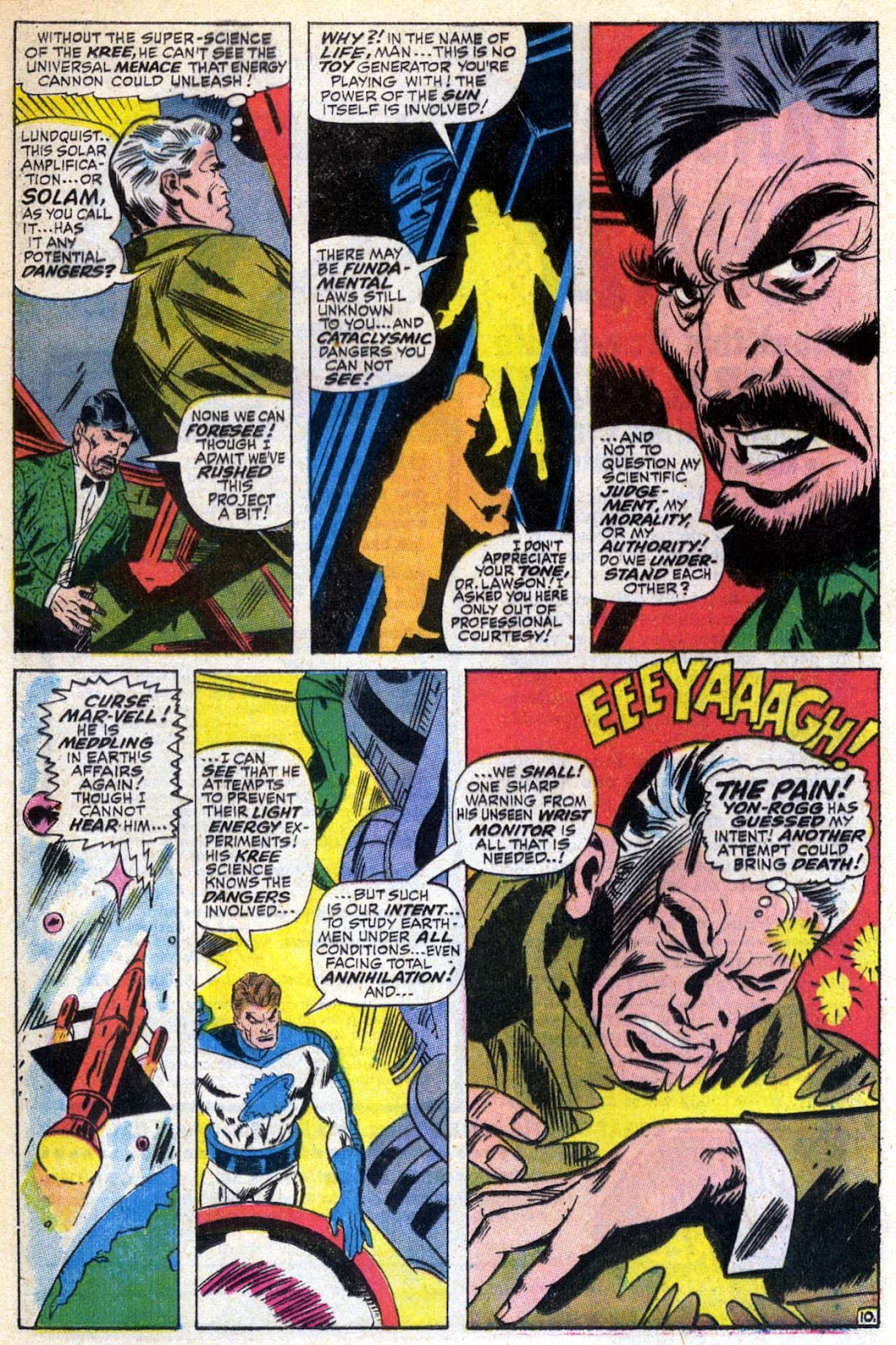 Captain Marvel (1968) Issue #6 #6 - English 11