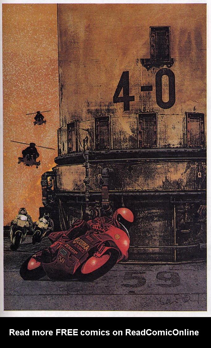 Read online Akira comic -  Issue #38 - 56