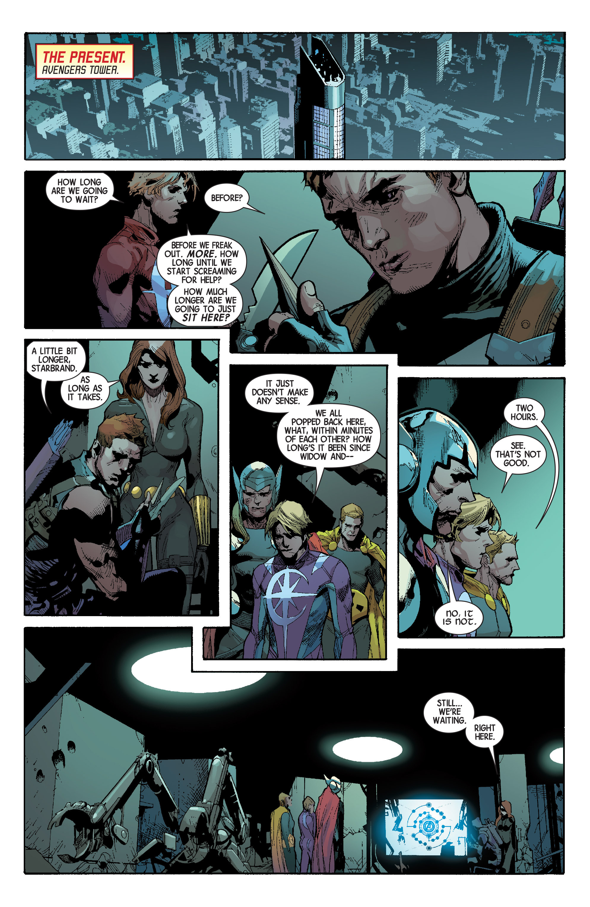 Read online Avengers (2013) comic -  Issue #Avengers (2013) _TPB 6 - 144