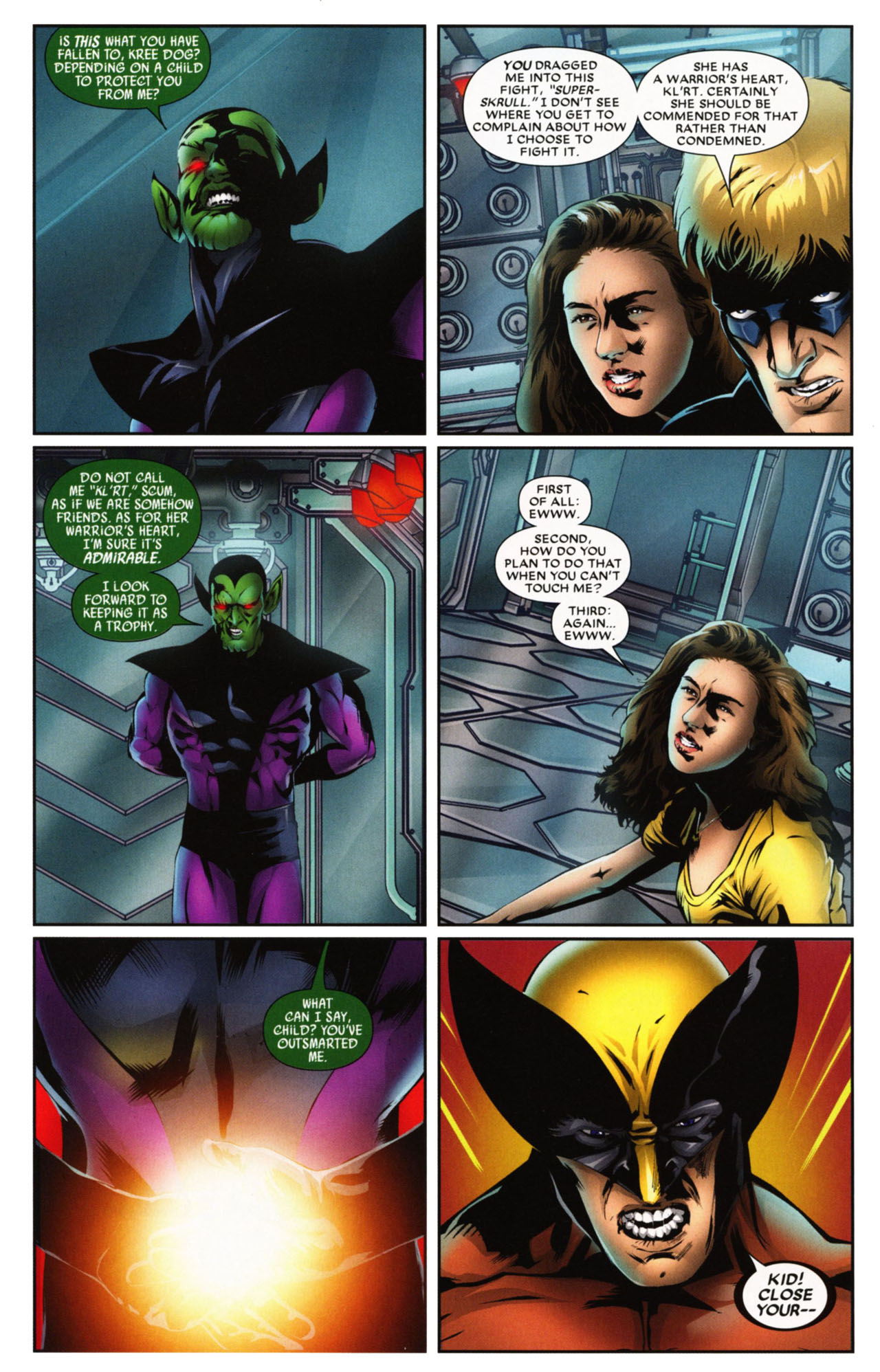Read online Wolverine: First Class comic -  Issue #20 - 5