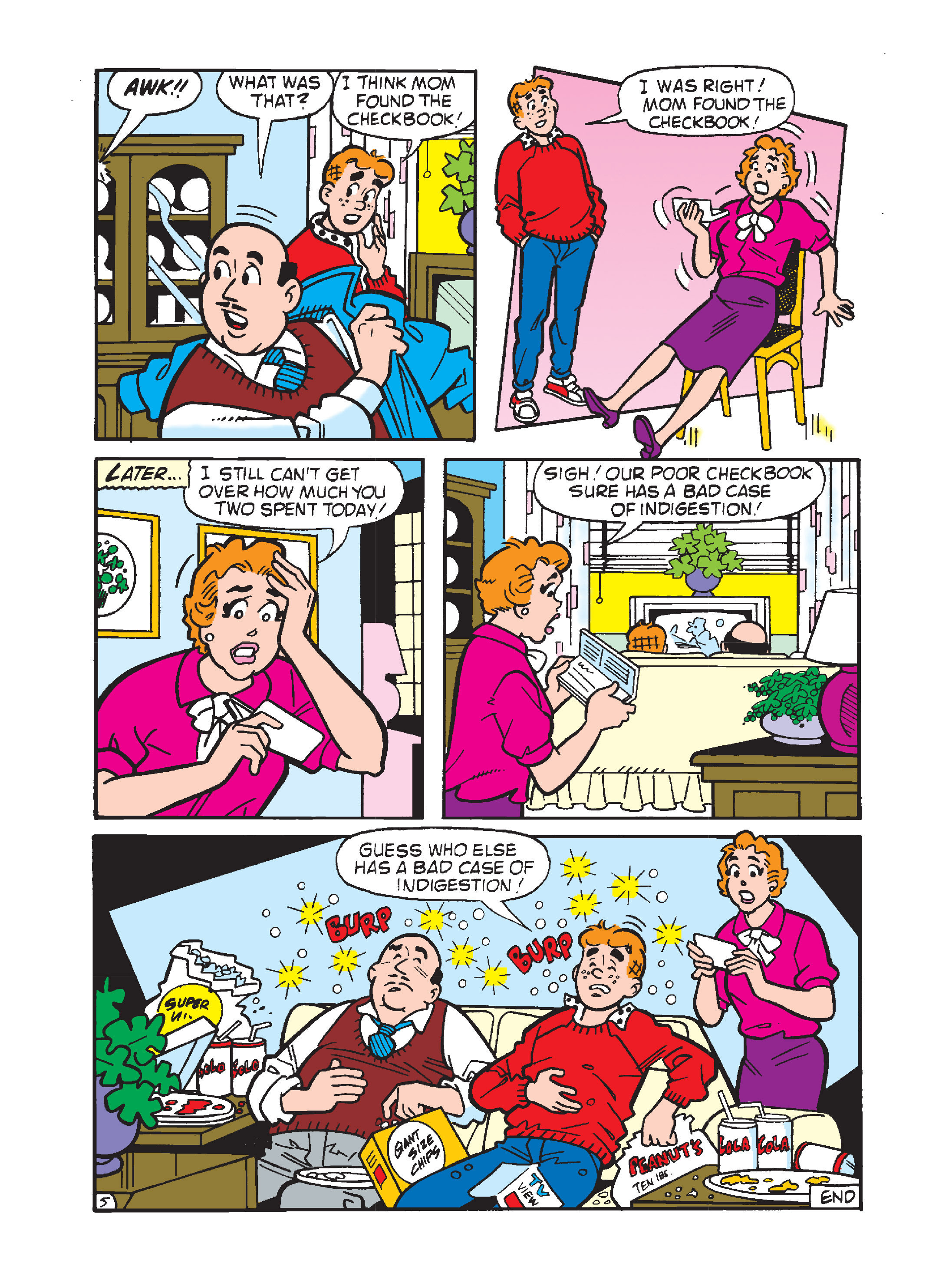 Read online Archie's Funhouse Double Digest comic -  Issue #10 - 115