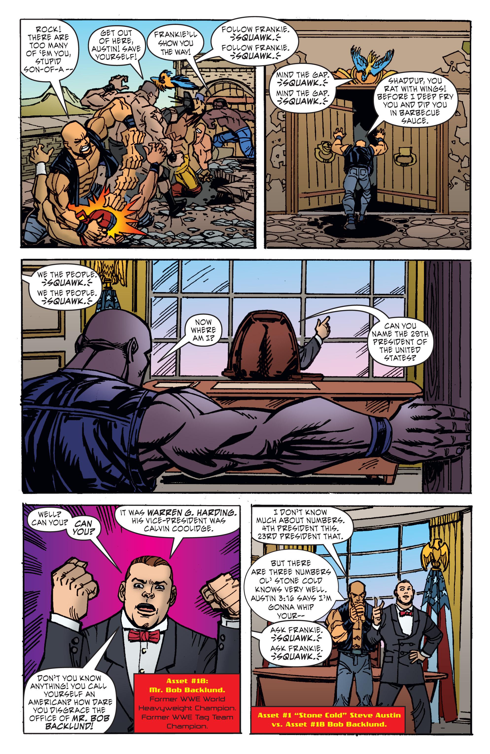 Read online WWE Superstars comic -  Issue #11 - 18