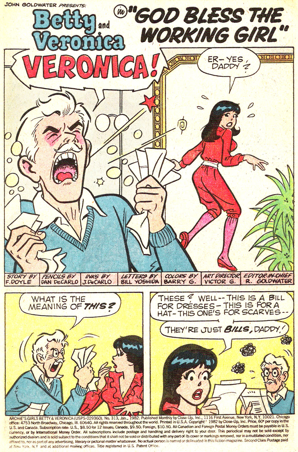 Read online Archie's Girls Betty and Veronica comic -  Issue #313 - 3