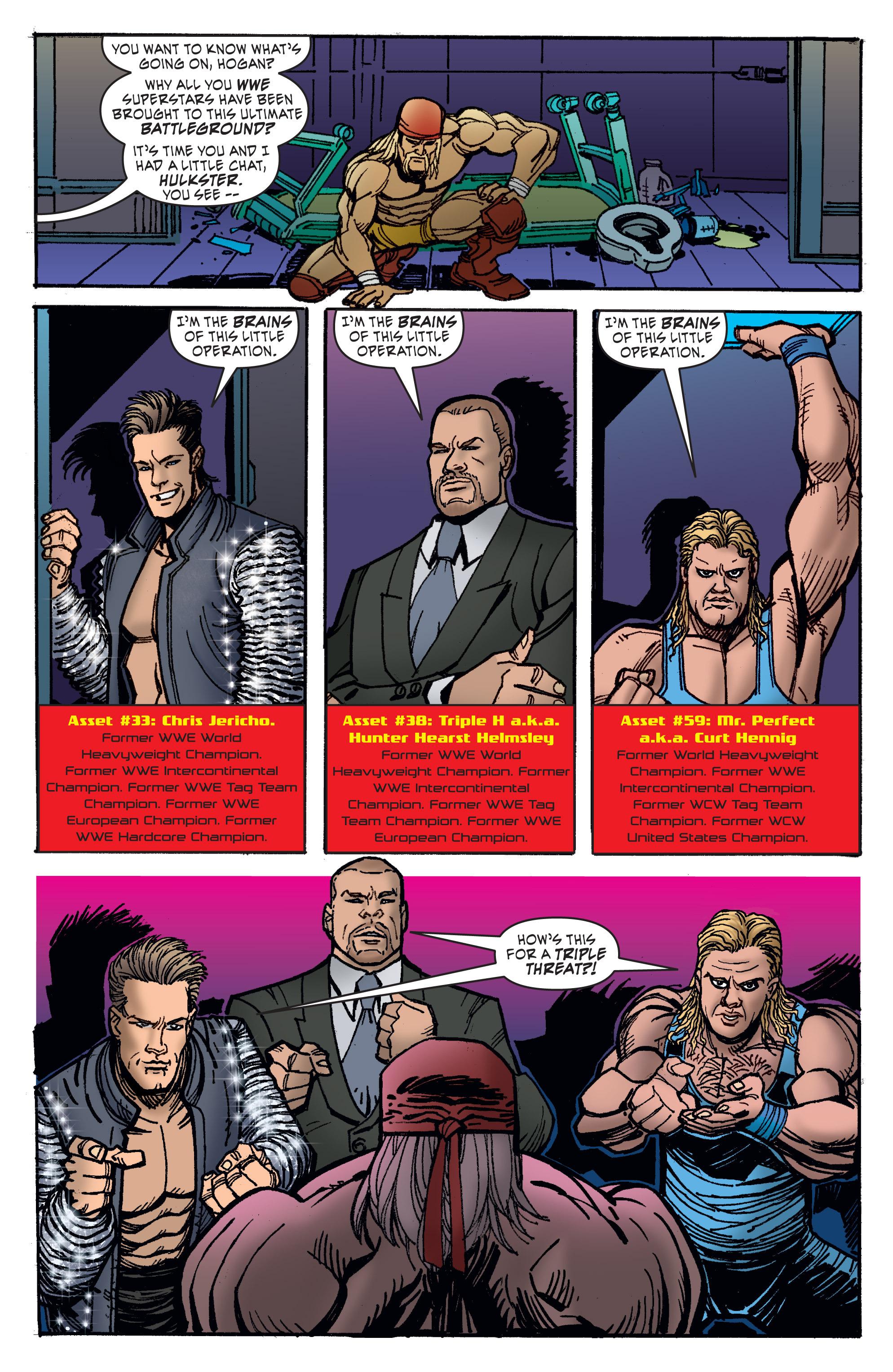 Read online WWE Superstars comic -  Issue #11 - 23