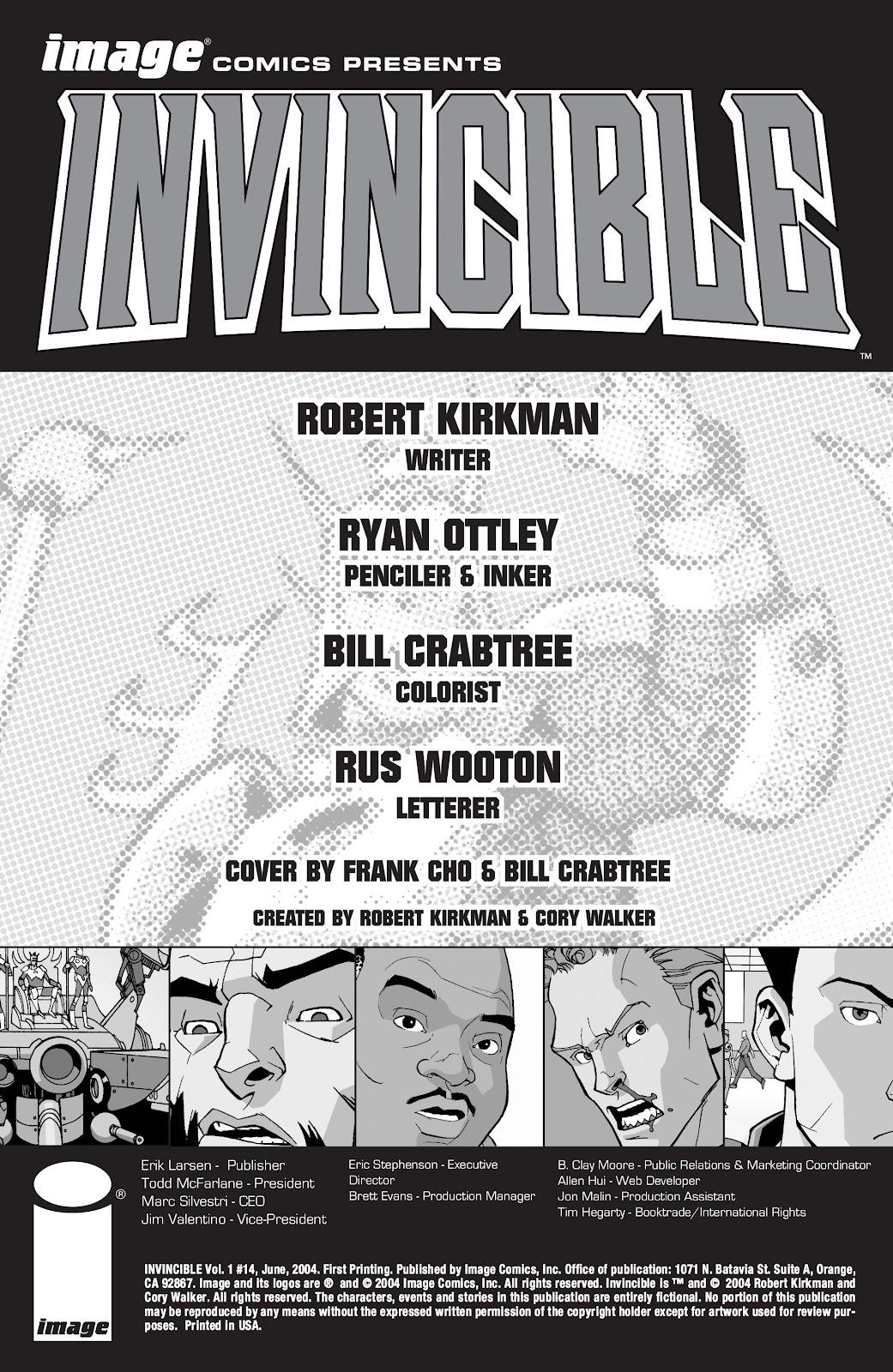 Invincible (2003) 14 Page 2