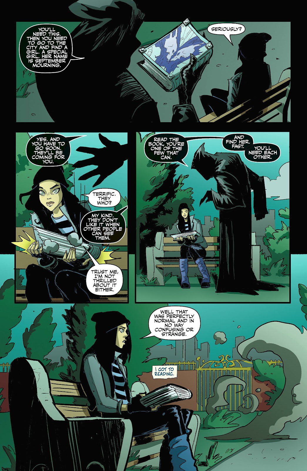 Read online September Mourning Volume 1 comic -  Issue #1 - 21