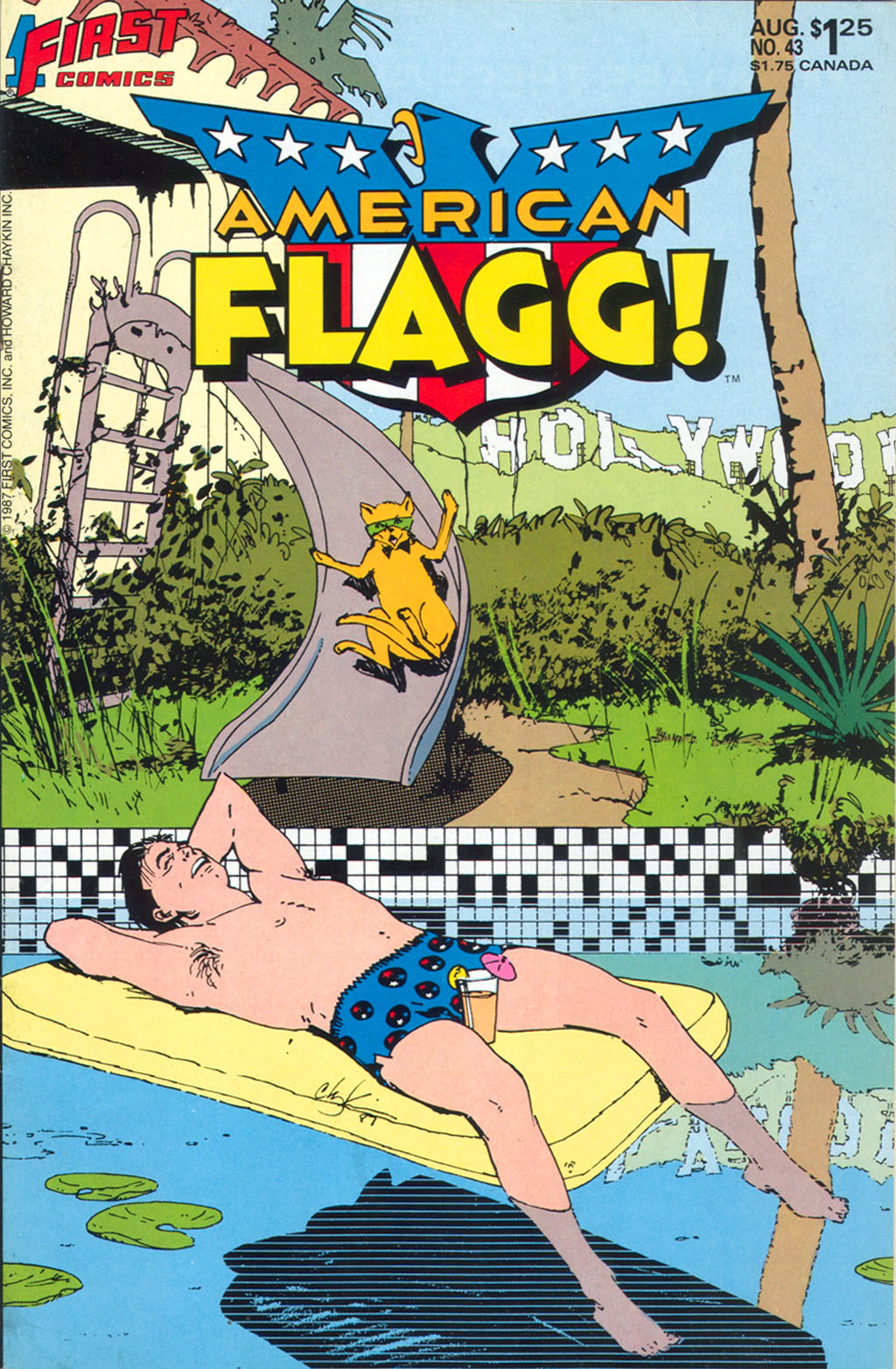 Read online American Flagg! comic -  Issue #43 - 1