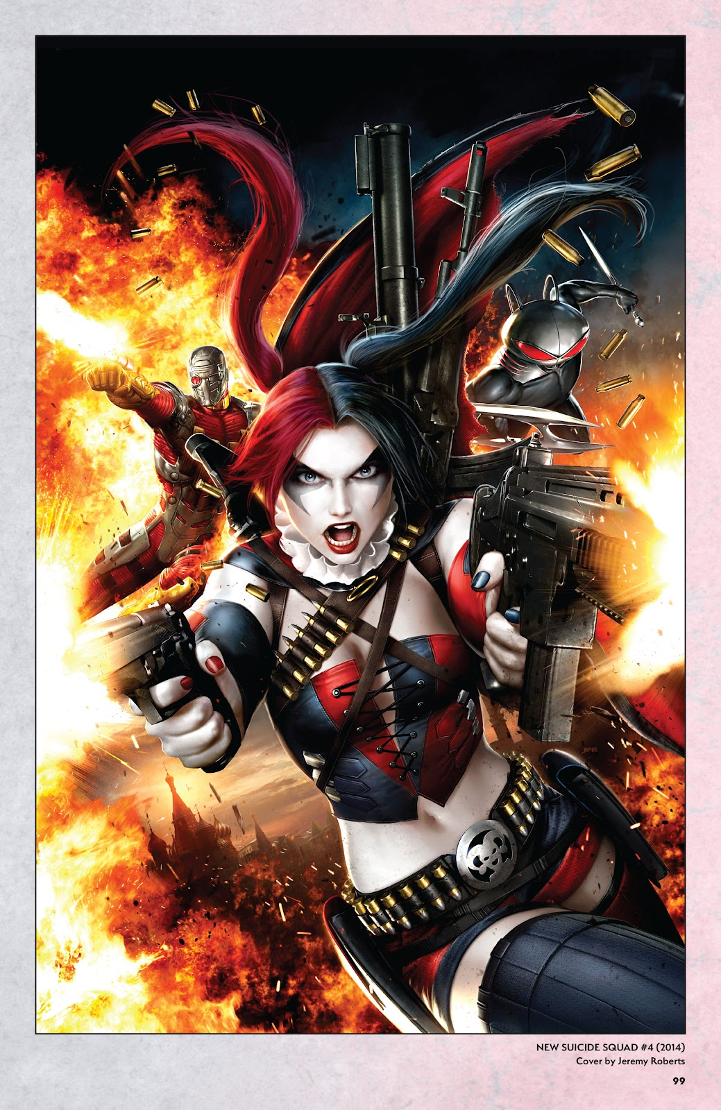 Read online Harley Quinn: A Rogue's Gallery―The Deluxe Cover Art Collection comic -  Issue # TPB (Part 1) - 96