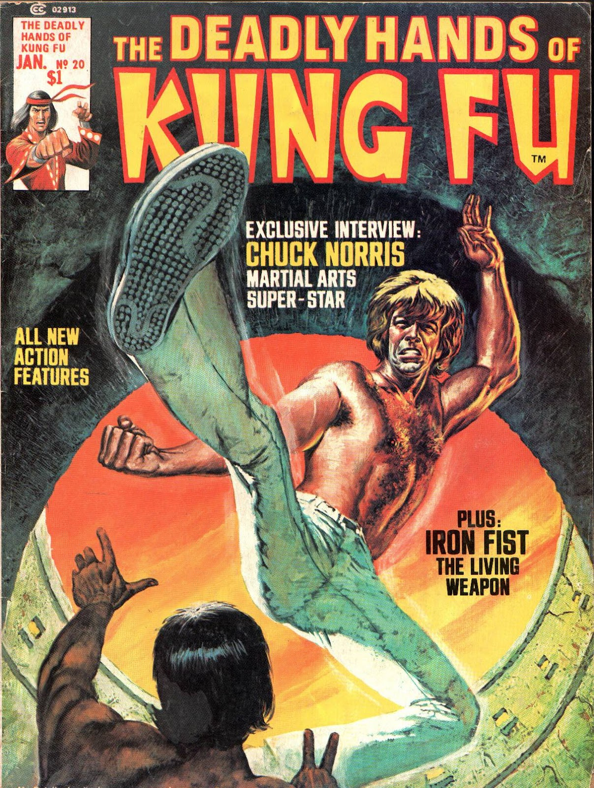 The Deadly Hands of Kung Fu issue 20 - Page 1
