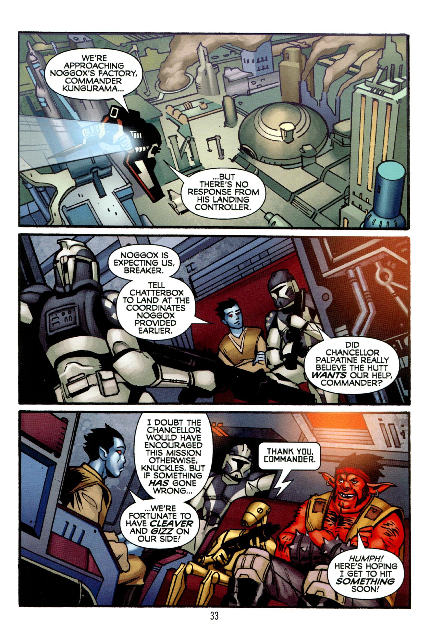 Read online Star Wars: The Clone Wars - Strange Allies comic -  Issue # Full - 34