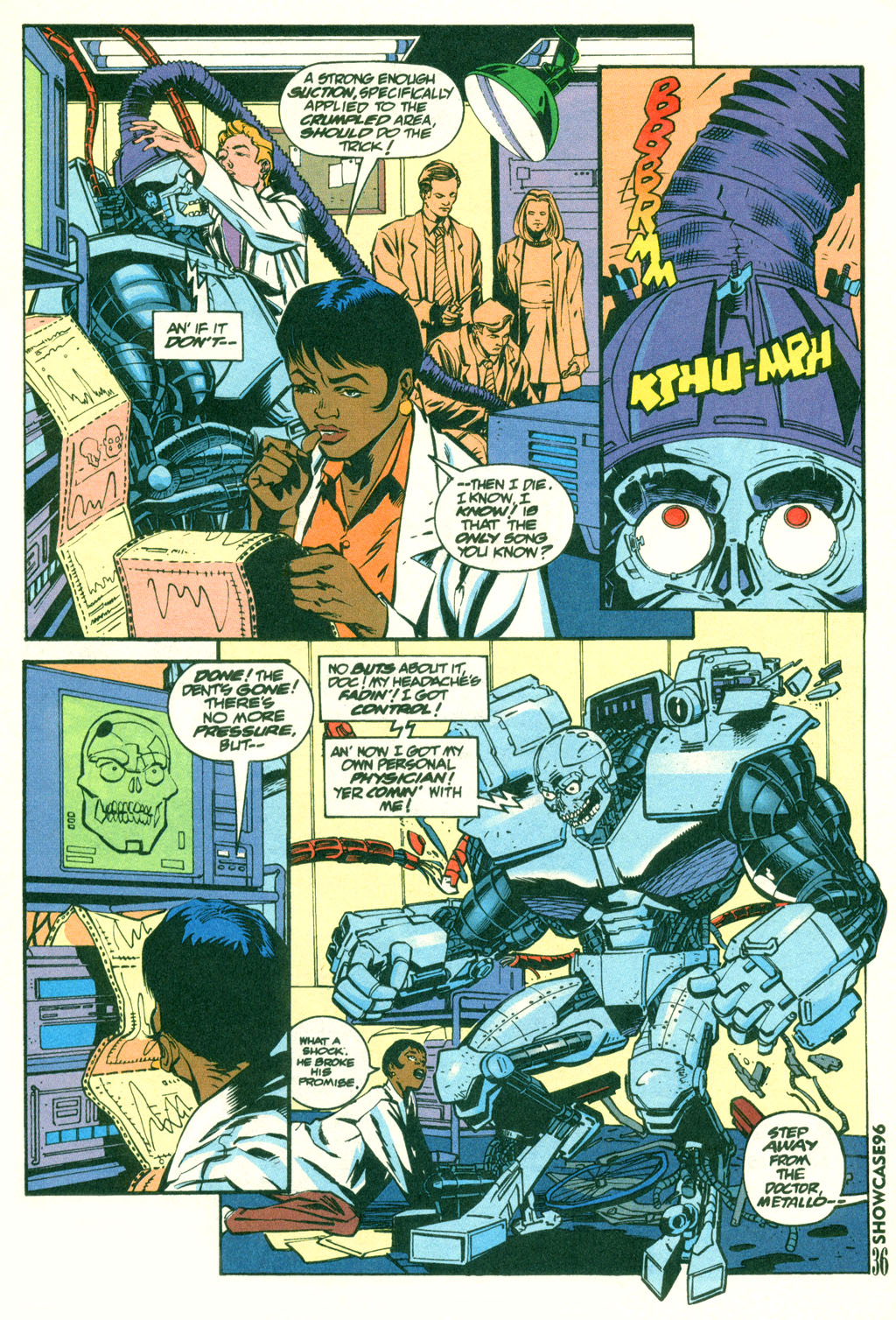 Read online Showcase '96 comic -  Issue #2 - 34