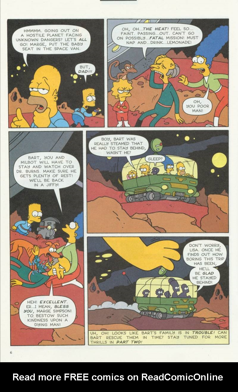 Read online Simpsons Comics Presents Bart Simpson comic -  Issue #3 - 8