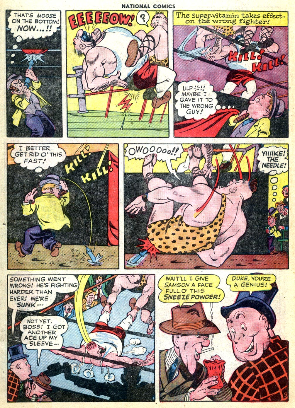 National Comics (1940) issue 47 - Page 11